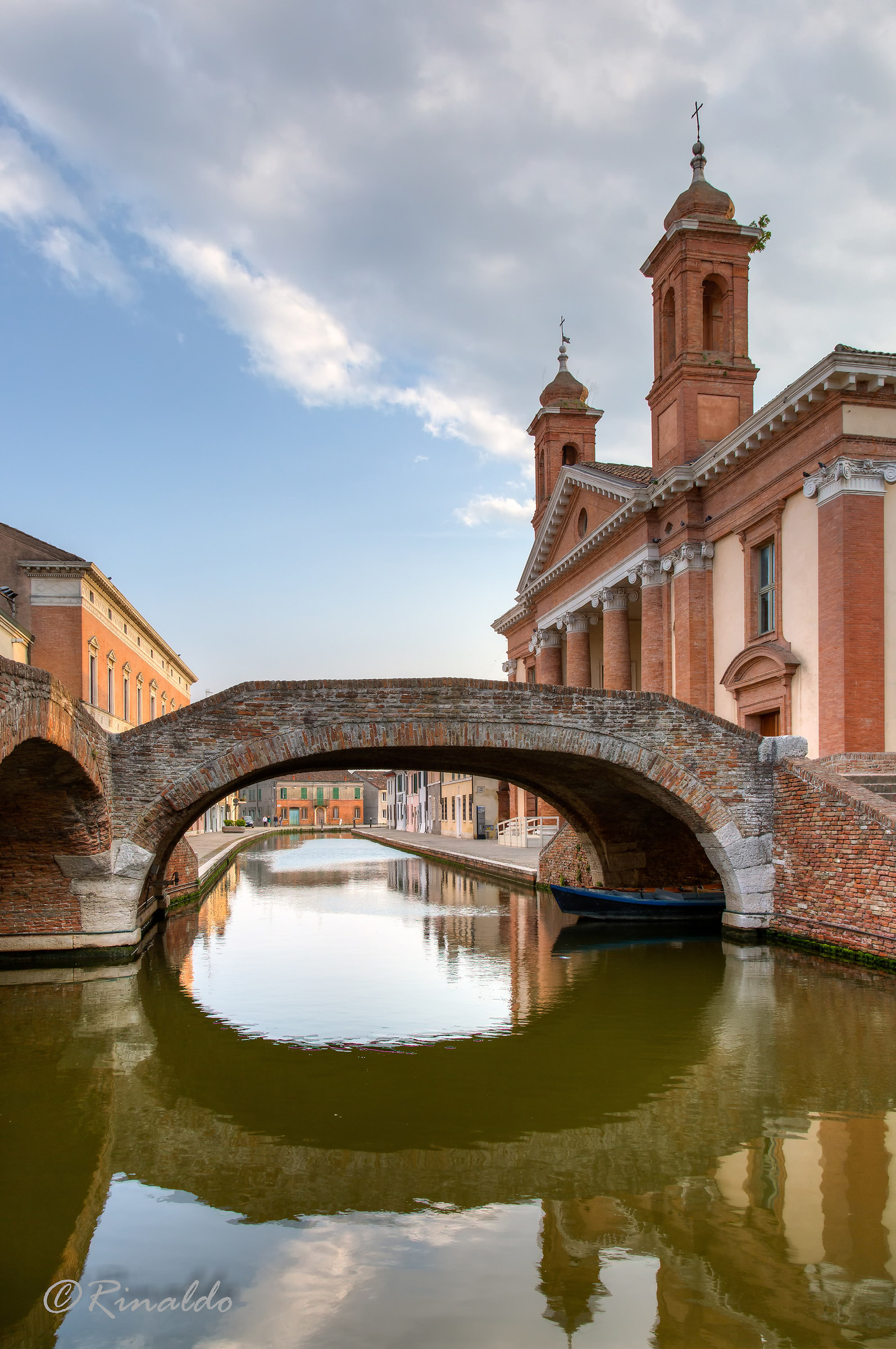 Comacchio, a beautiful city in the Po delta...