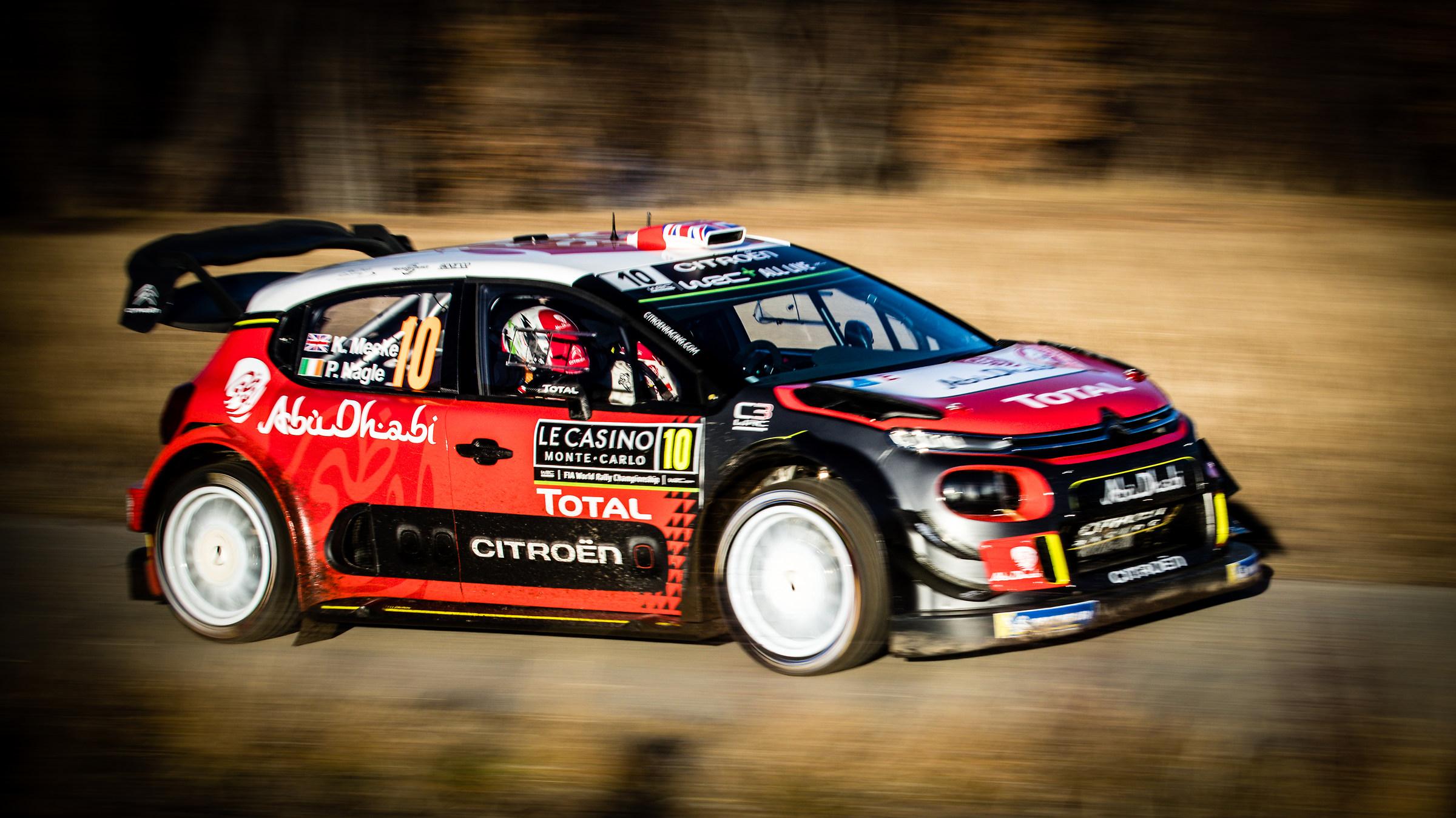 Kris Meeke - Monte Carlo Rally 2018...