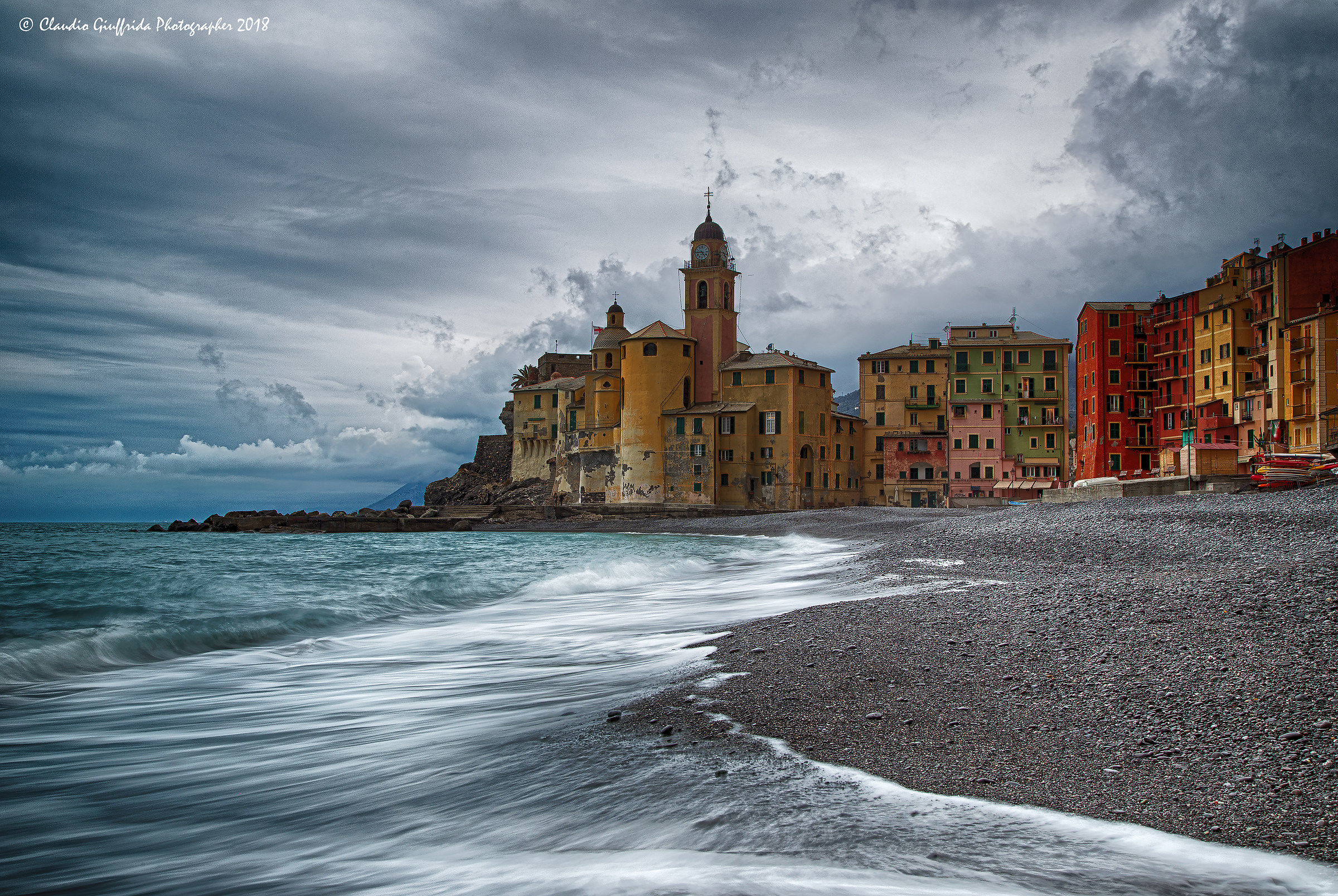 Winter afternoon in Camogli...