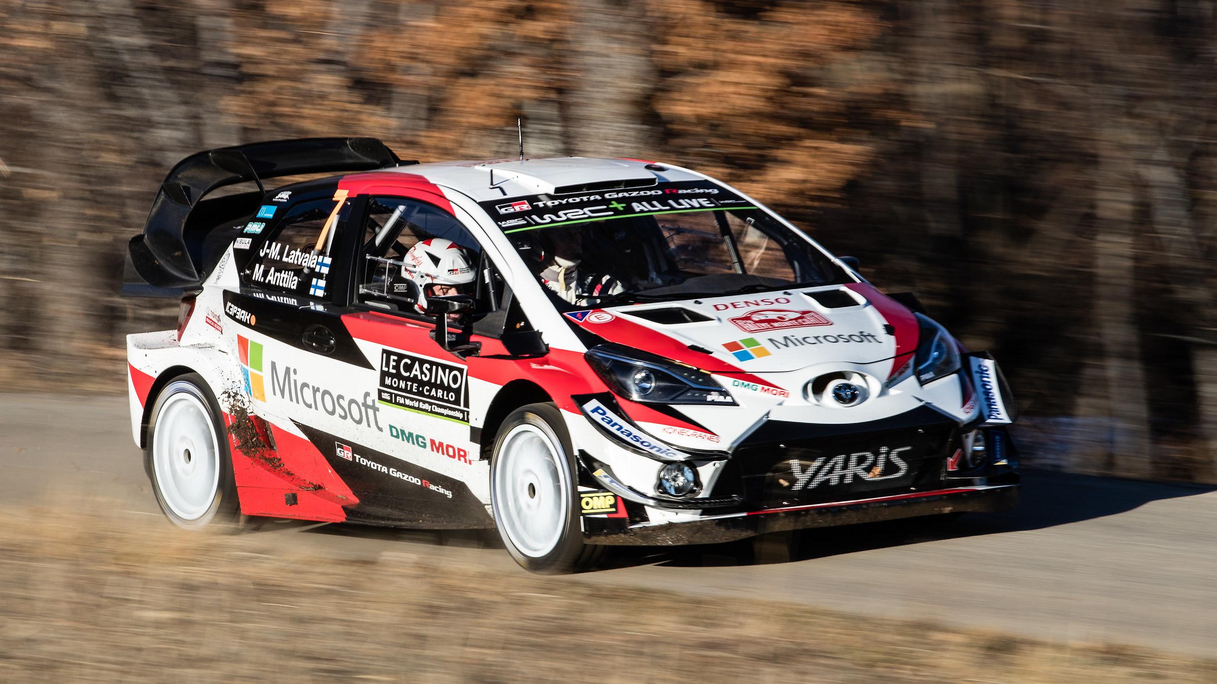 Jari-Matti Latvala - Monte Carlo Rally 2018...