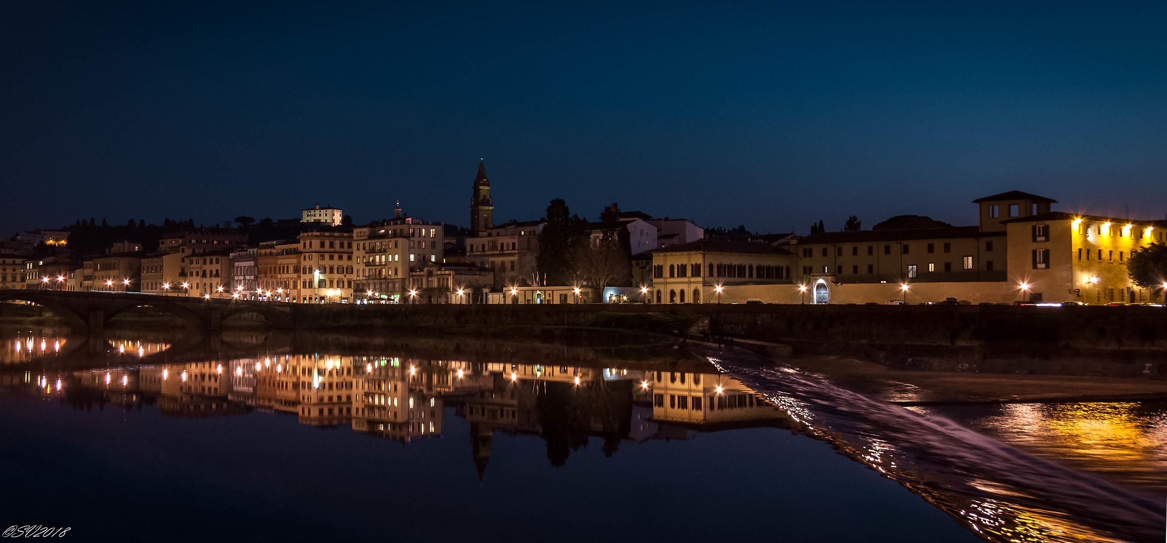 Night on the Lungarno...