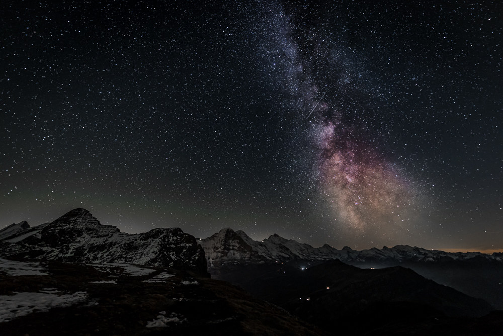 Milky Way from the Faulhorn...