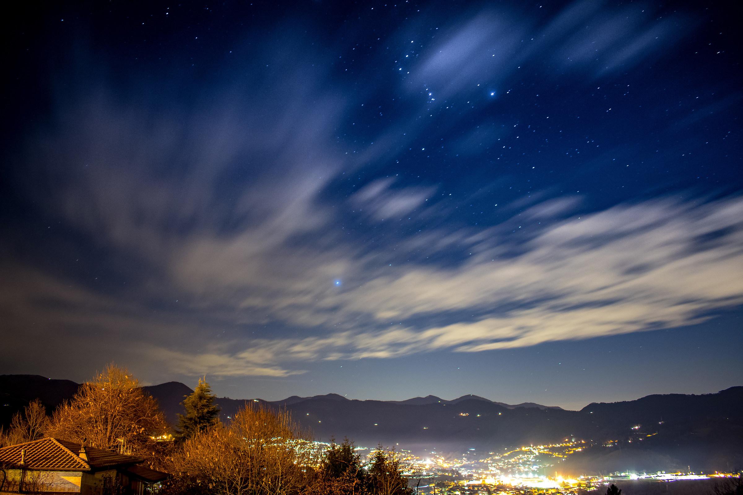 Val Seriana under the stars....