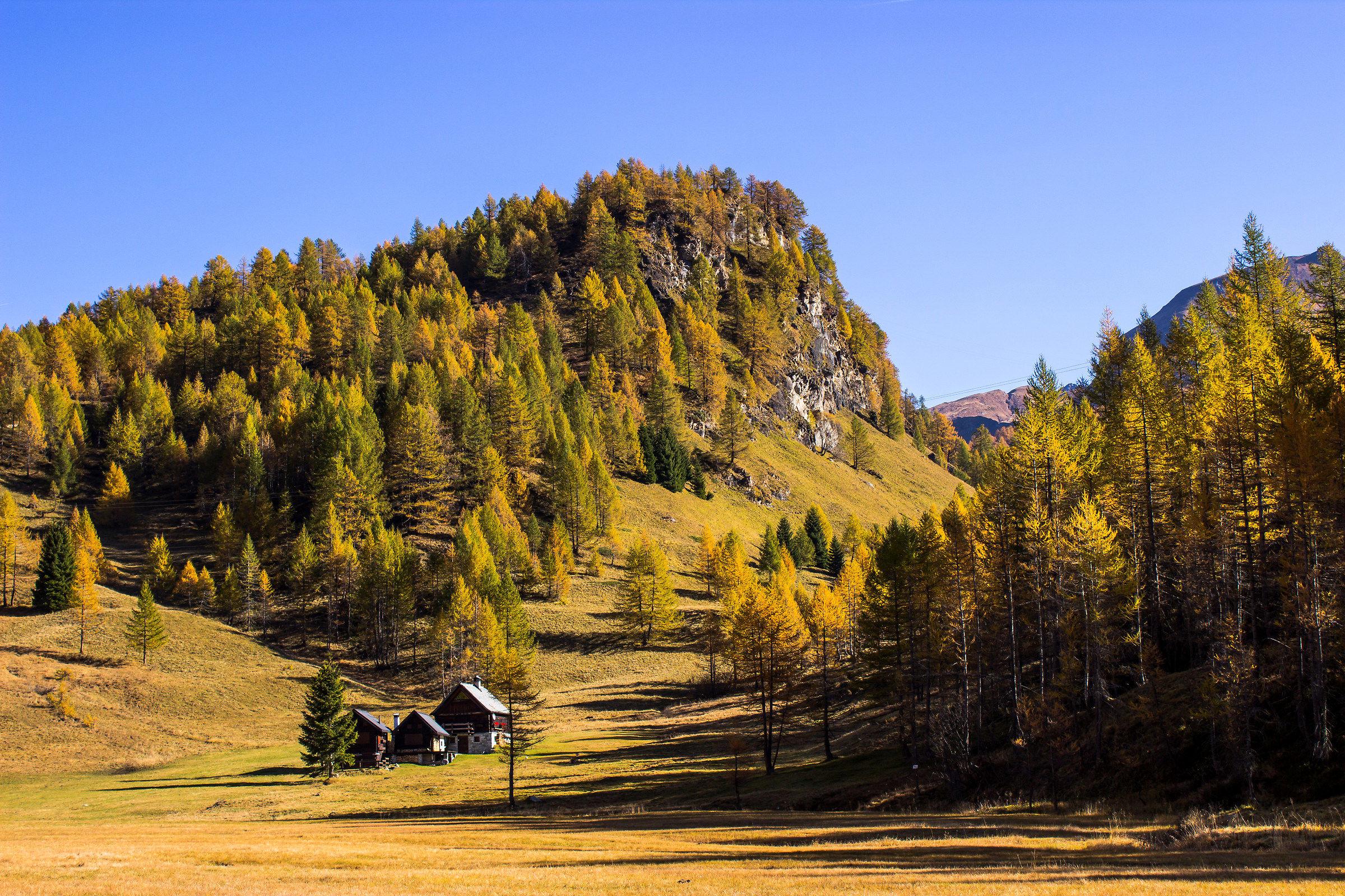 Autumn at the Alpe Devero...