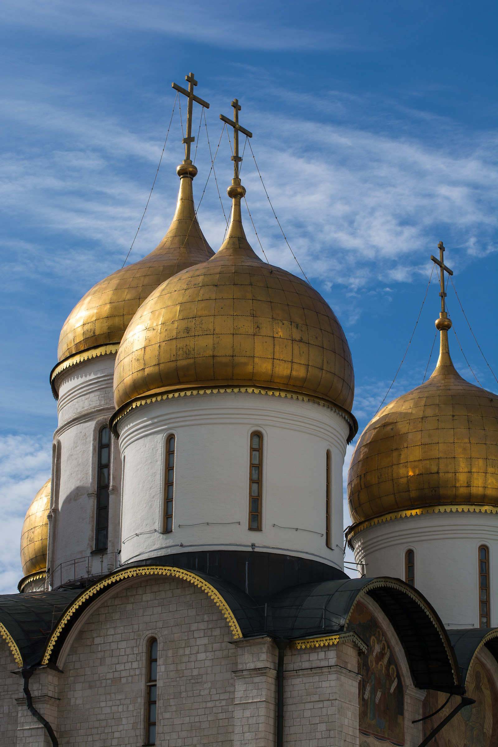Dormition Cathedral, Moscow Cremlin...