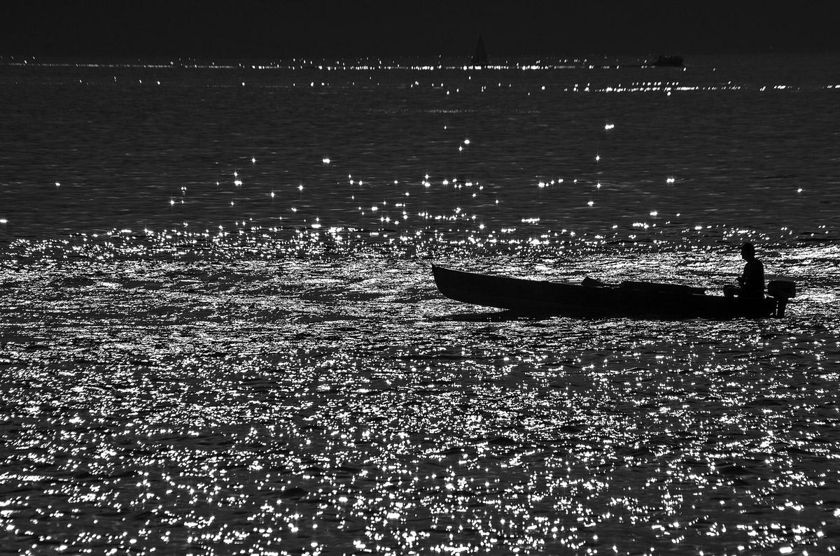 Navigando nella luce...
