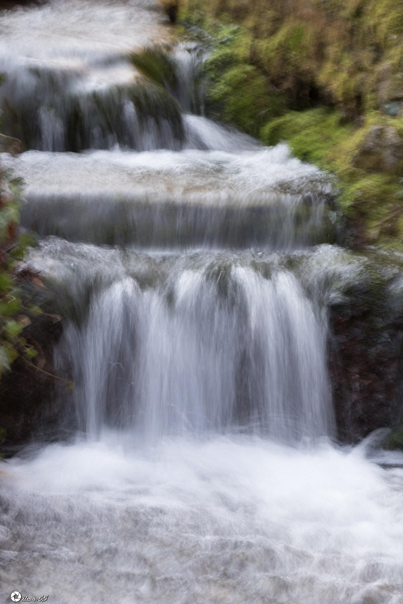 Una piccola cascata...