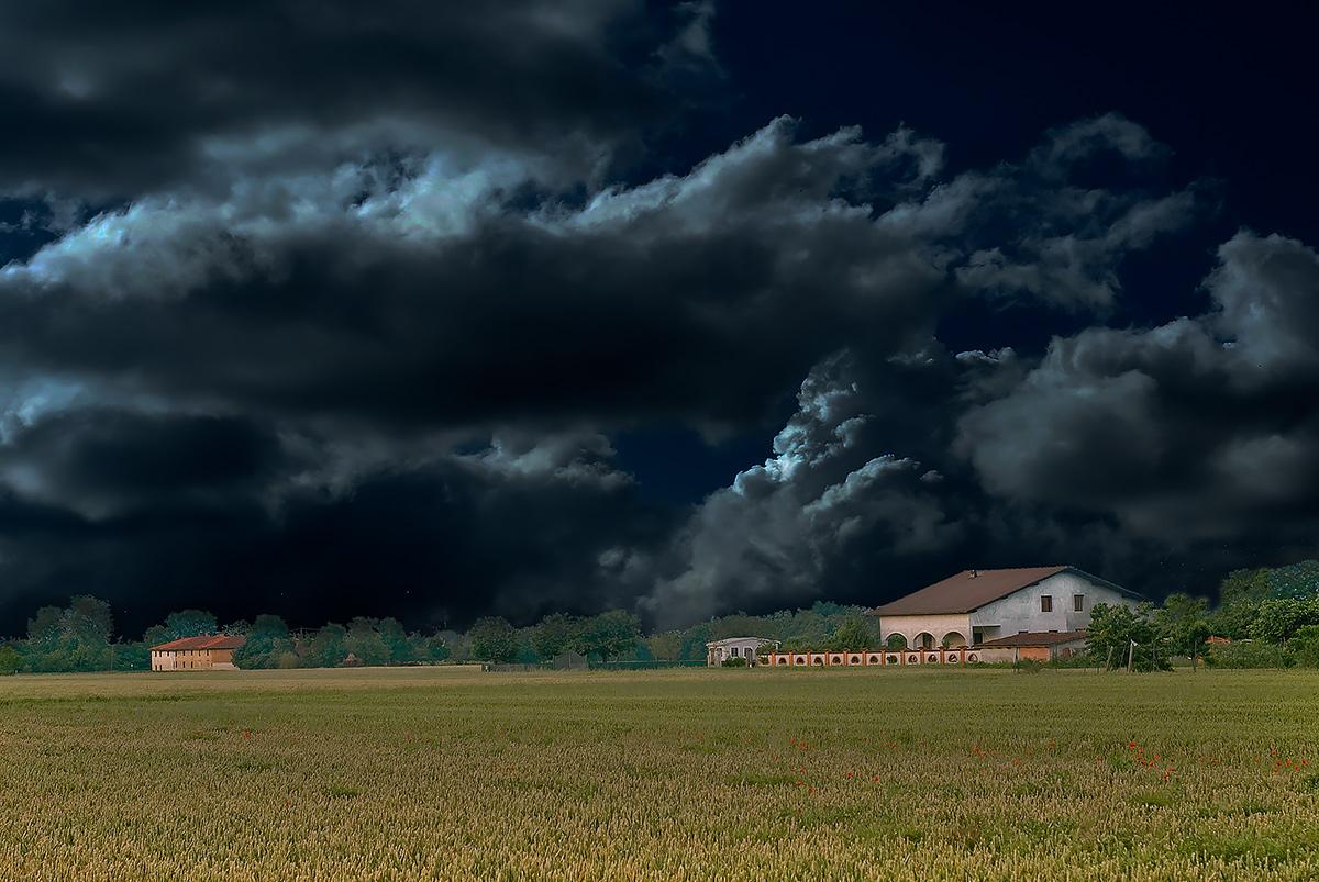 Pioverà?...