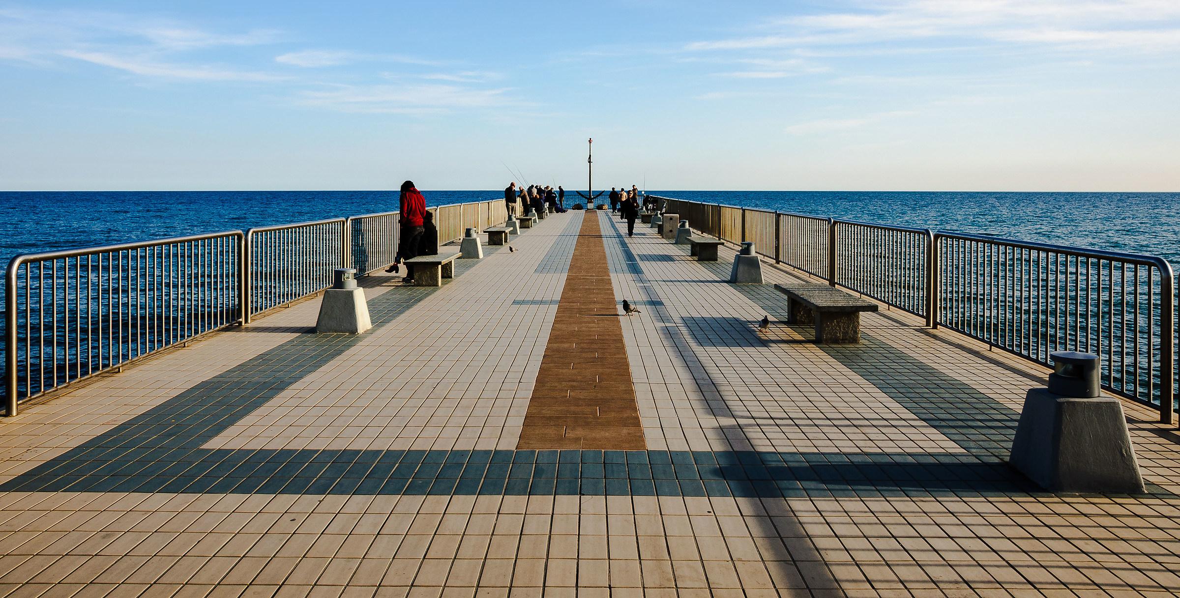 Towards a blue horizon...