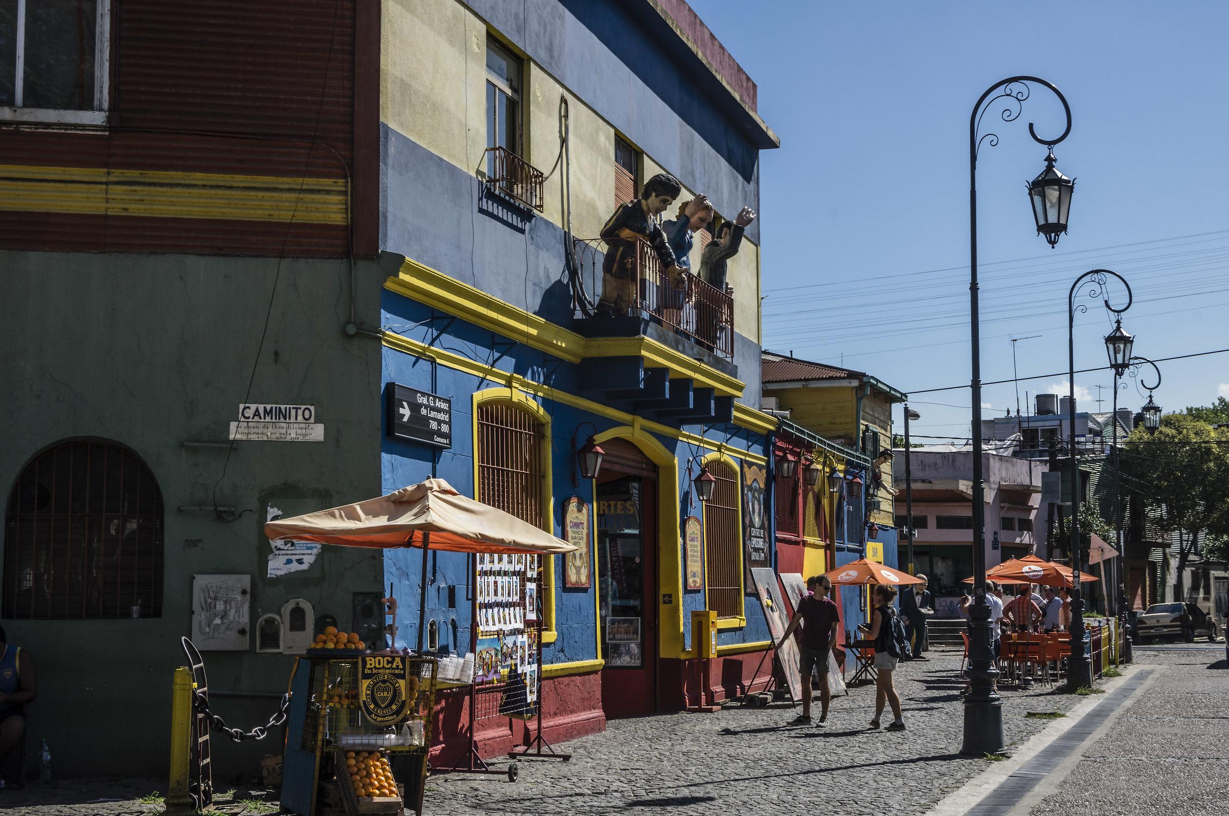 Caminito Buenos Aires...