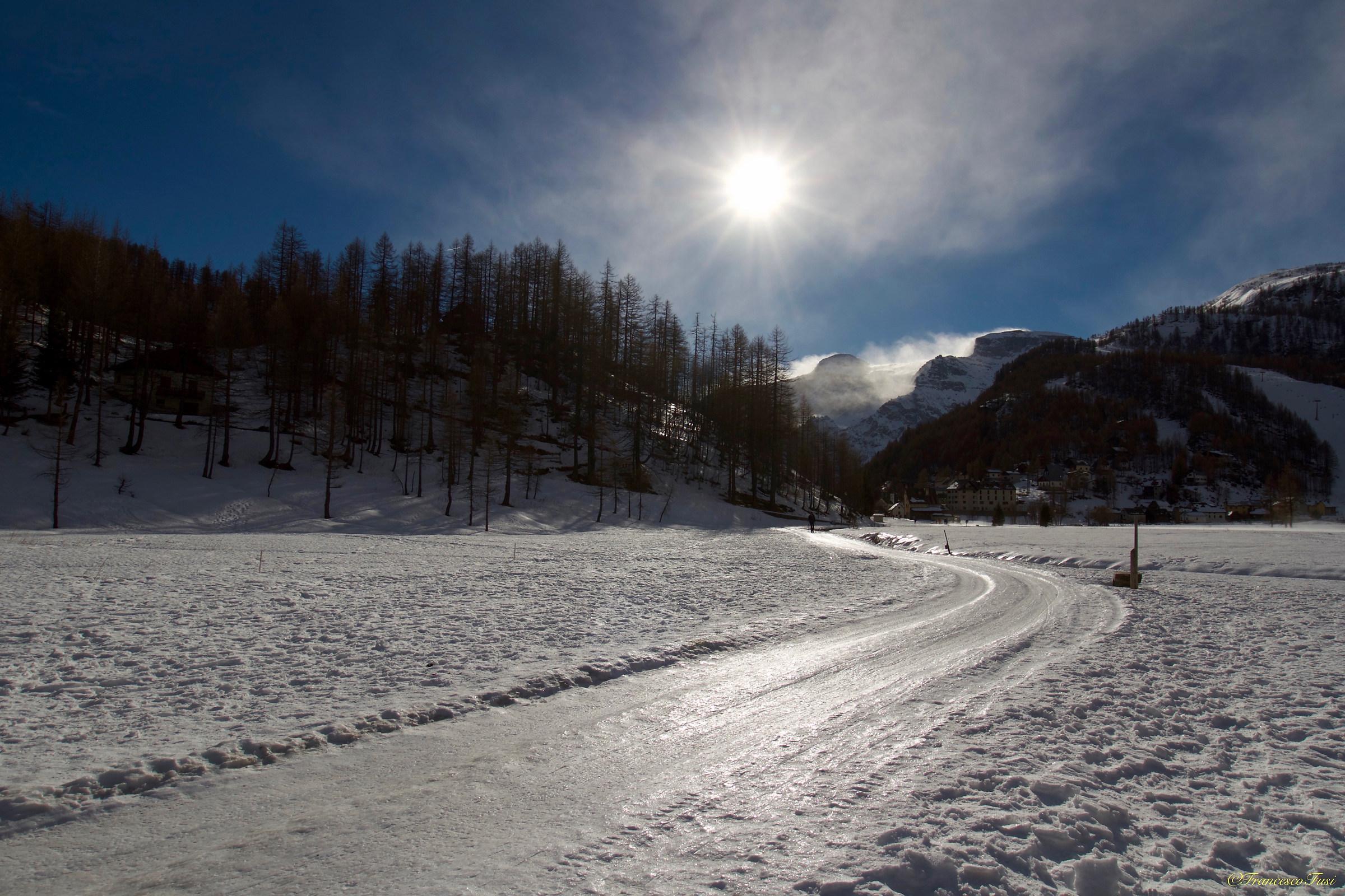 Winter at the Alpe Devero...