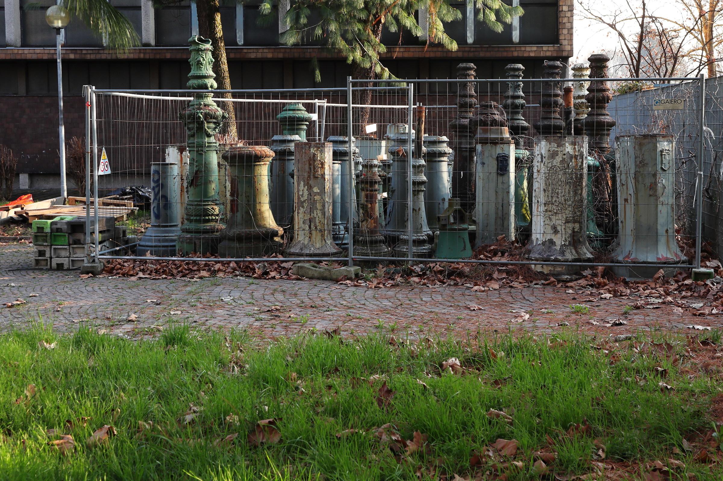 Scrap cemetery...