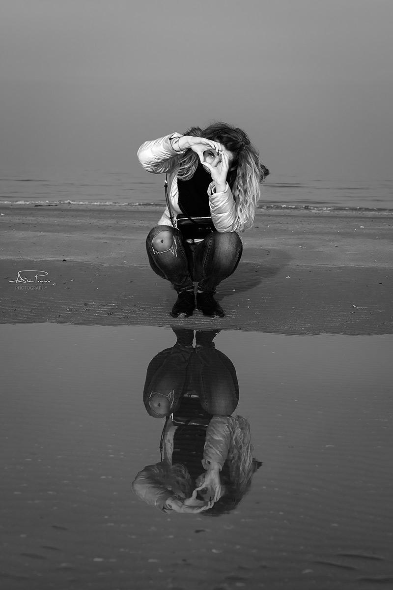 Reflected hearts...