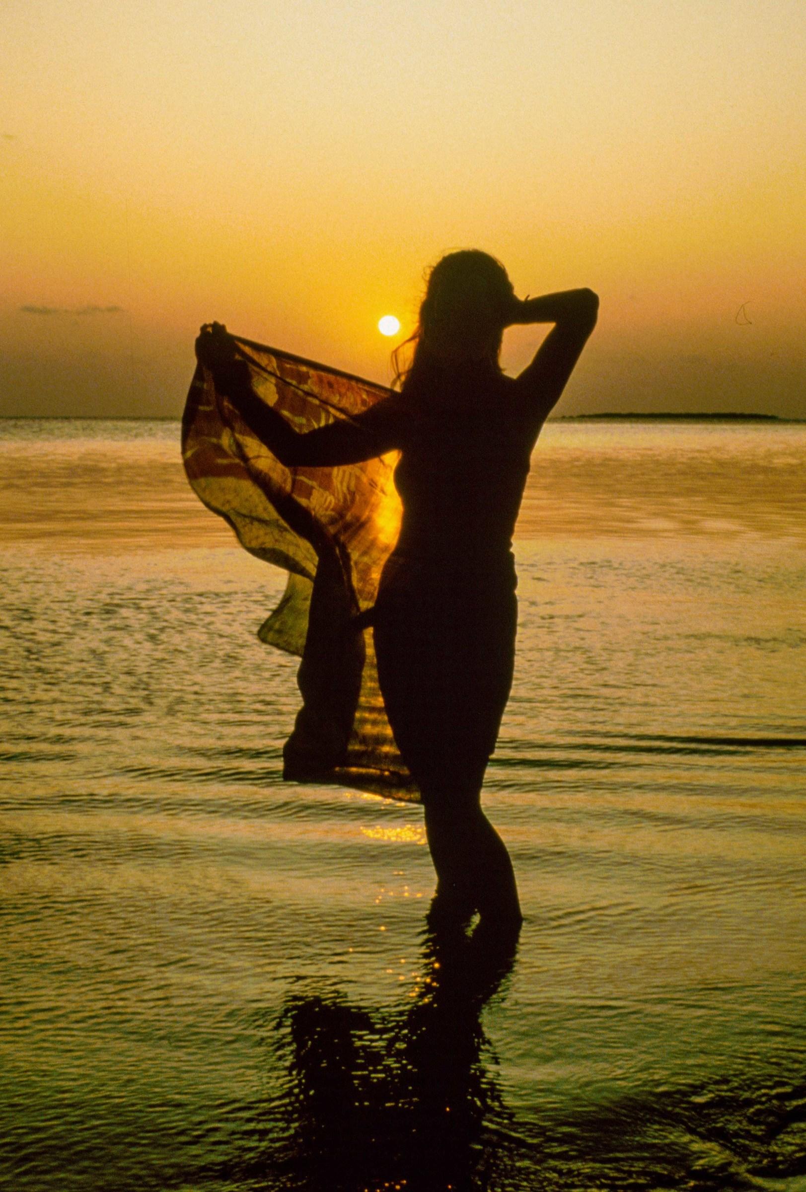 Sunset at the Maldives...