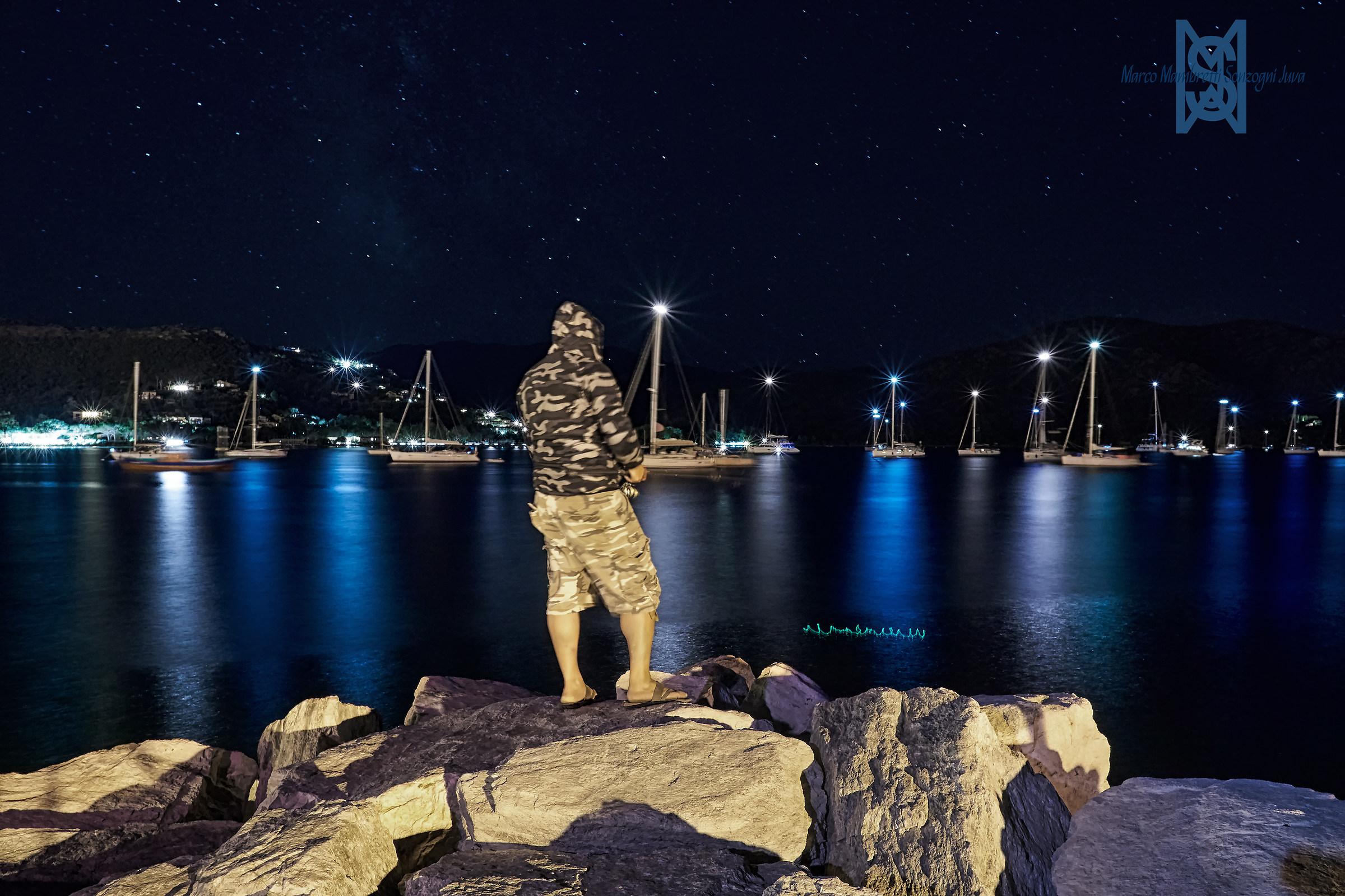 Pescatore di notte...