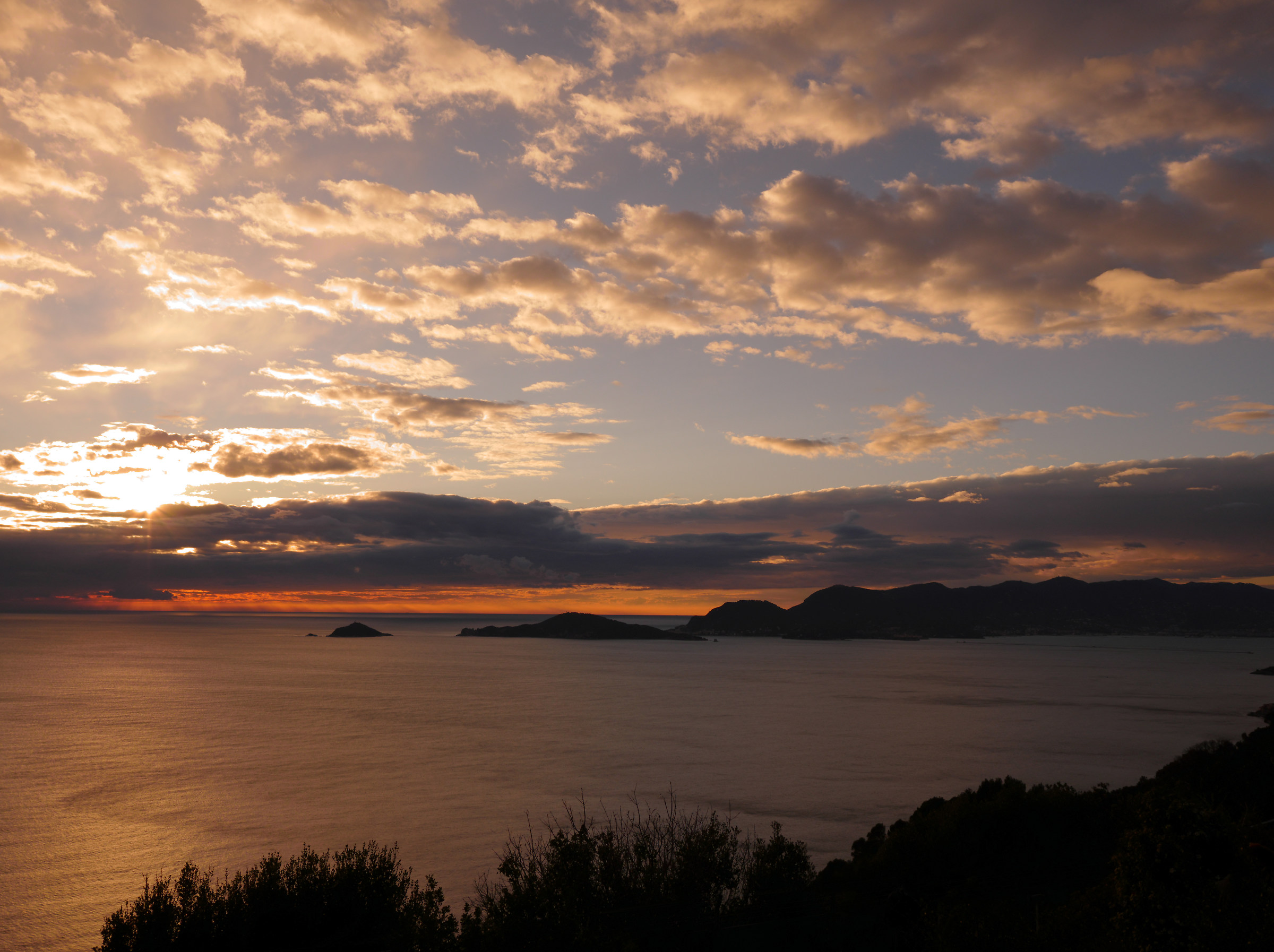 Islands of La Spezia...