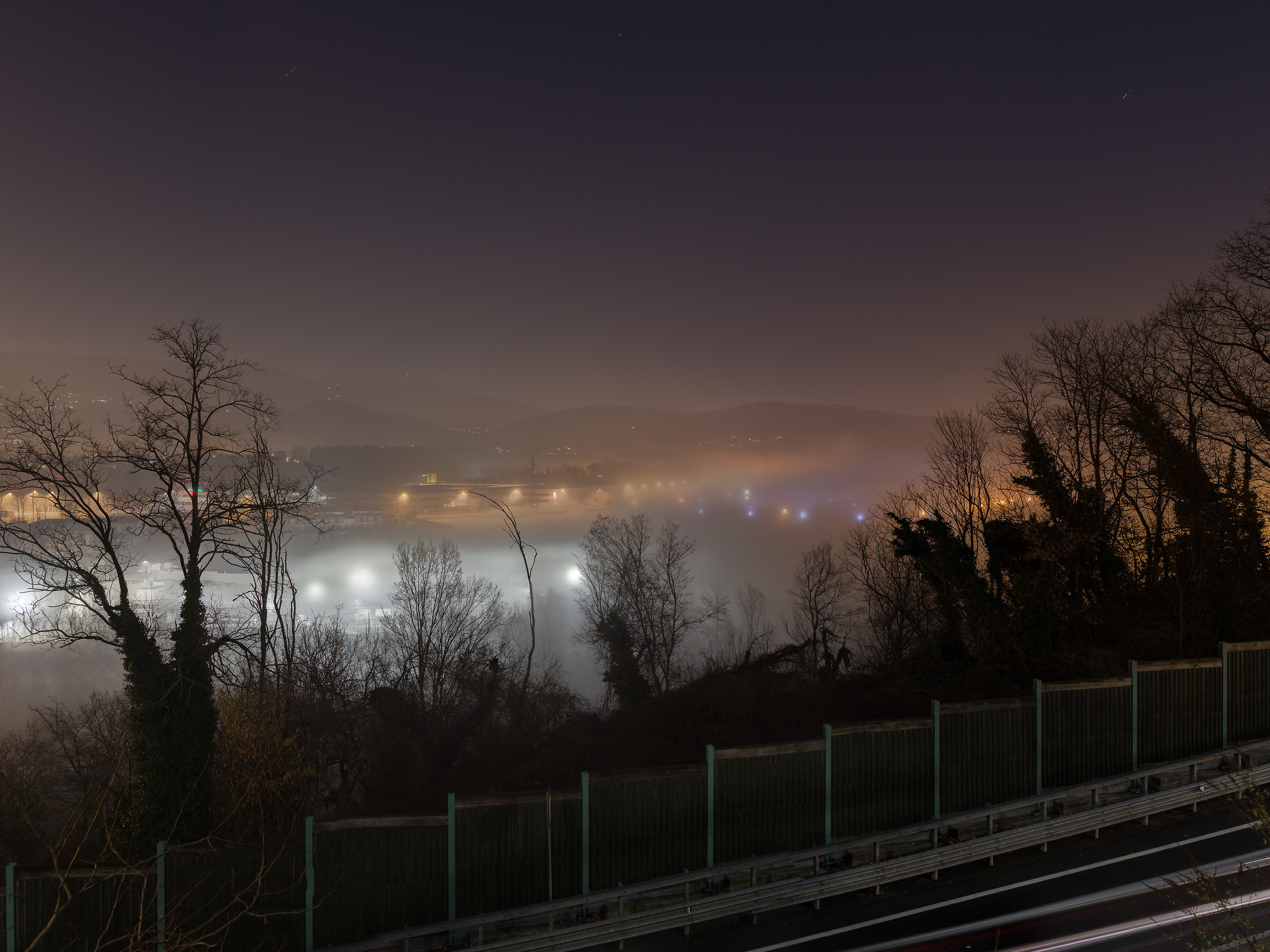Fog on the prisons of Bassone...