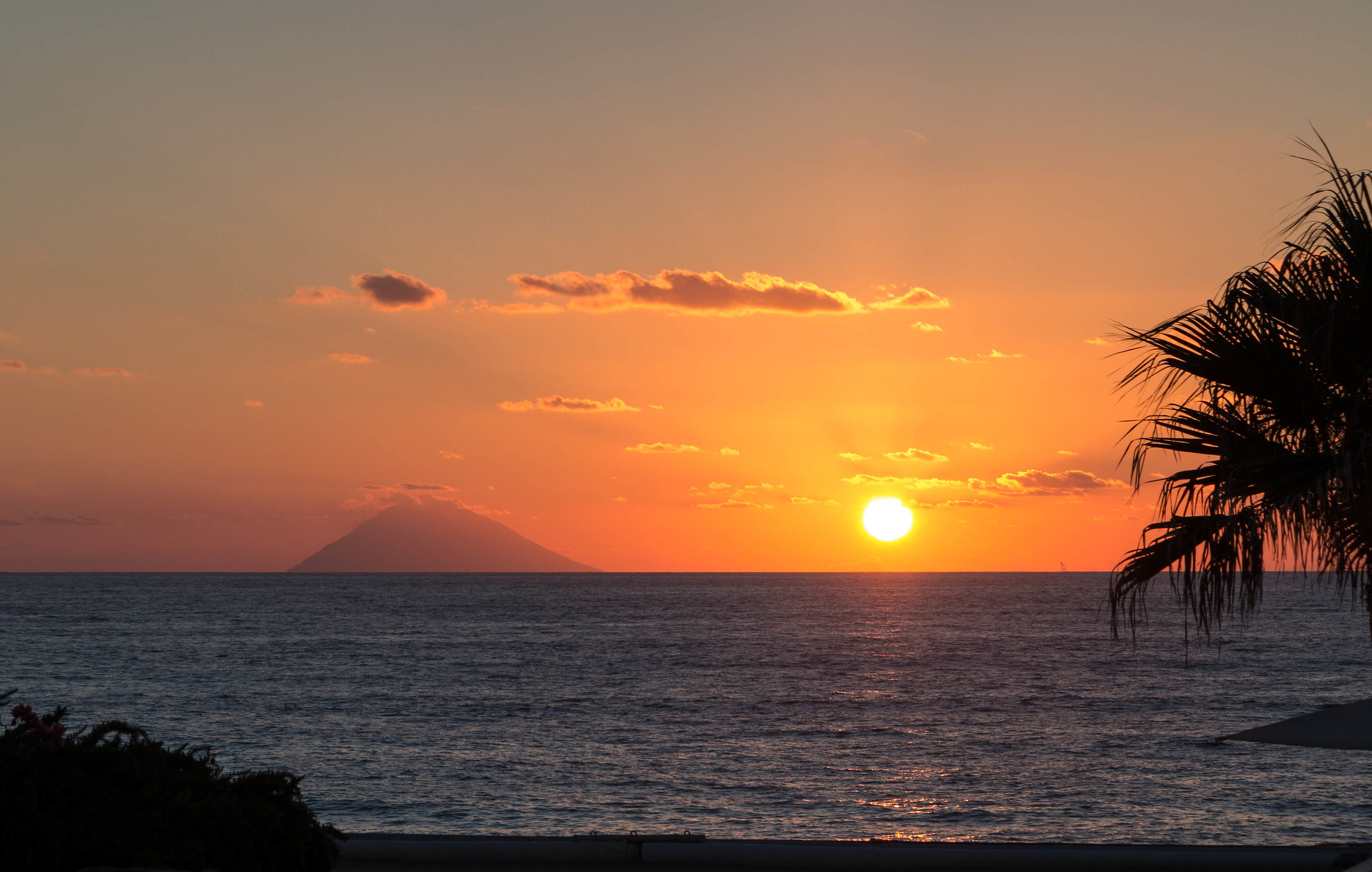 Stromboli seen from Capo Vaticano...