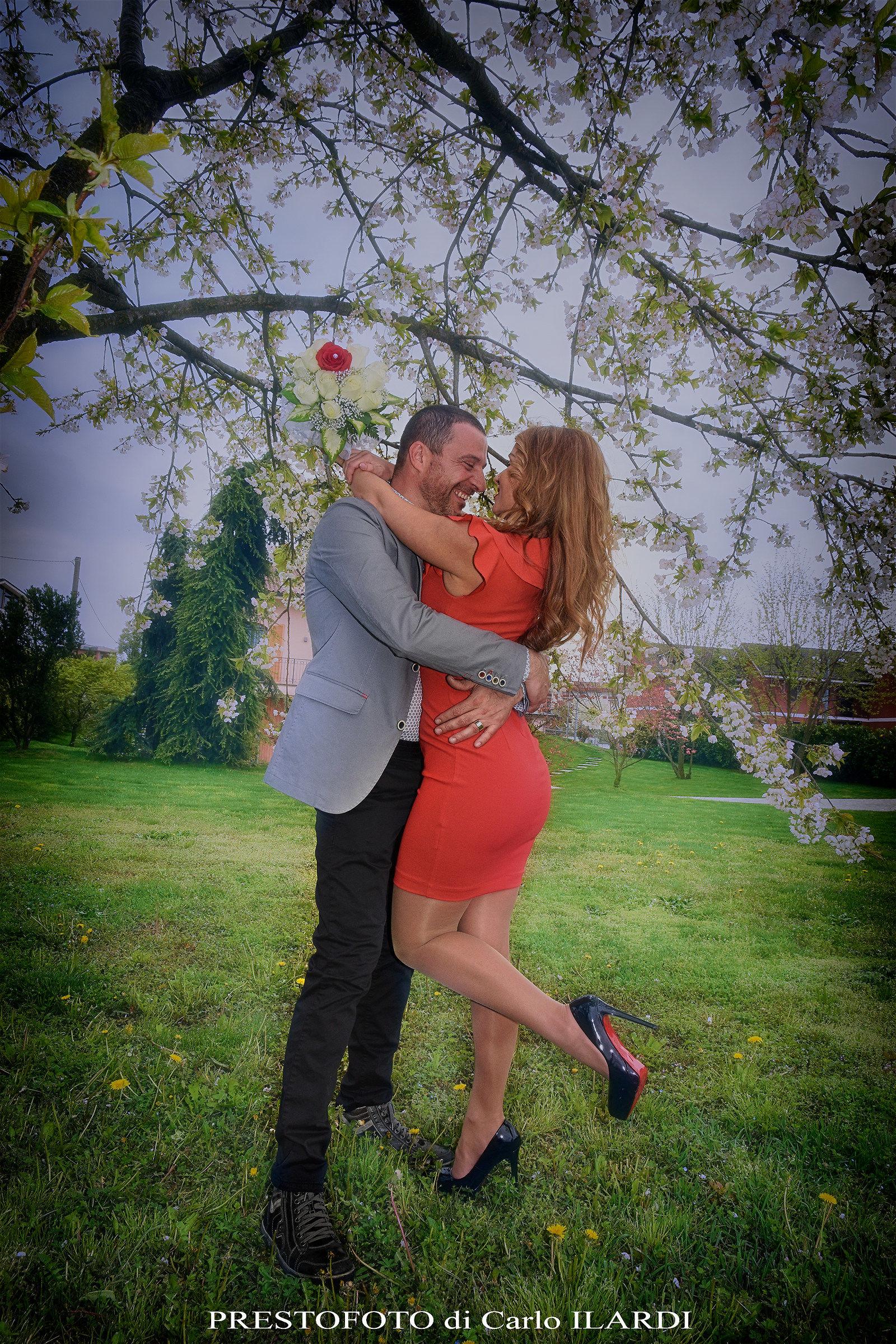 spring wedding...