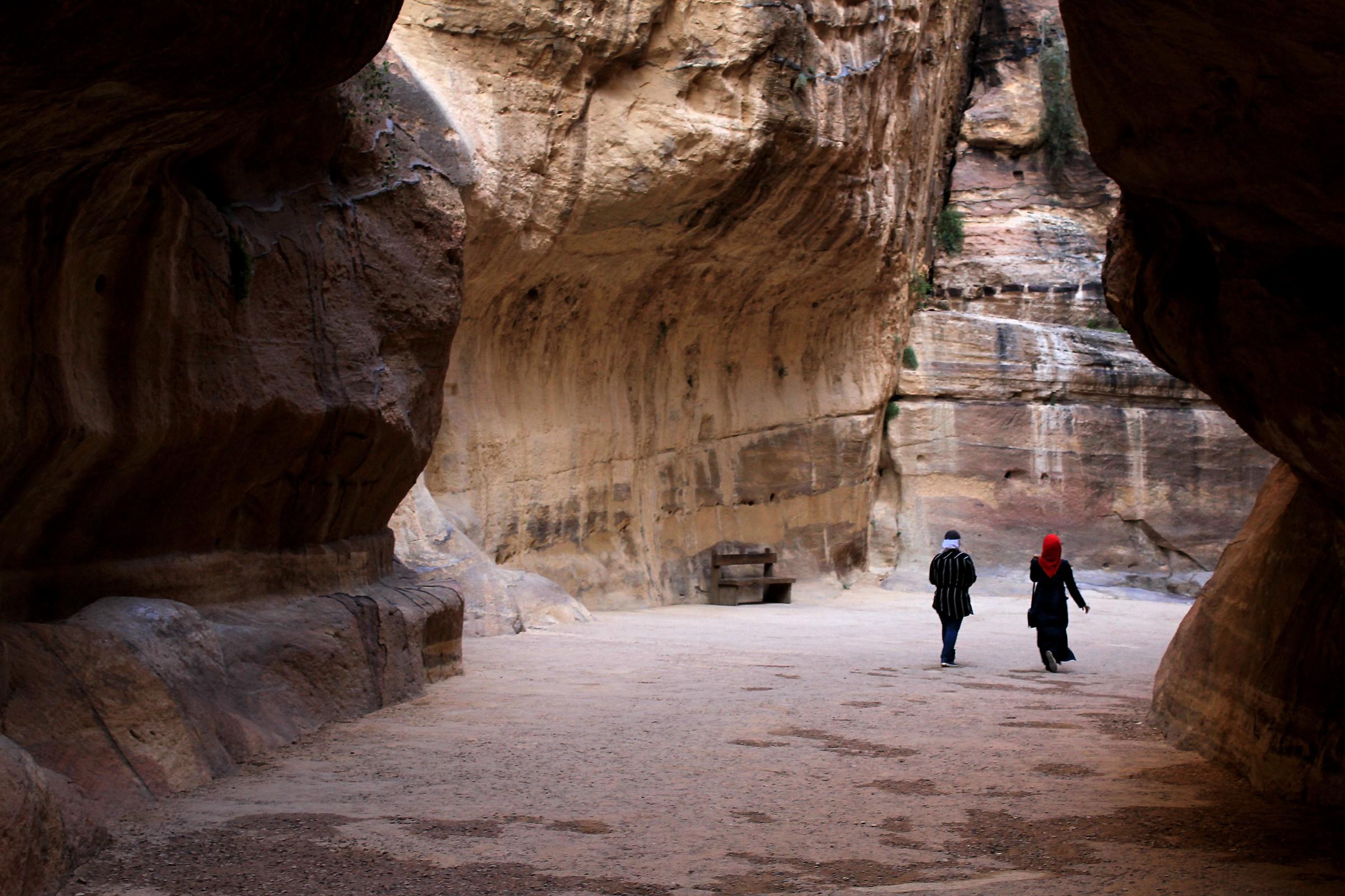 Towards Petra ......
