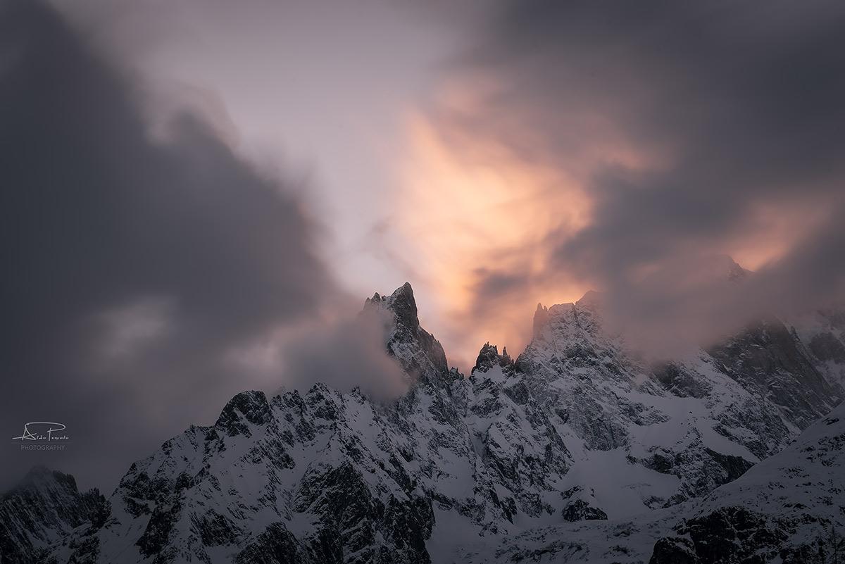 Mont Blanc massif...