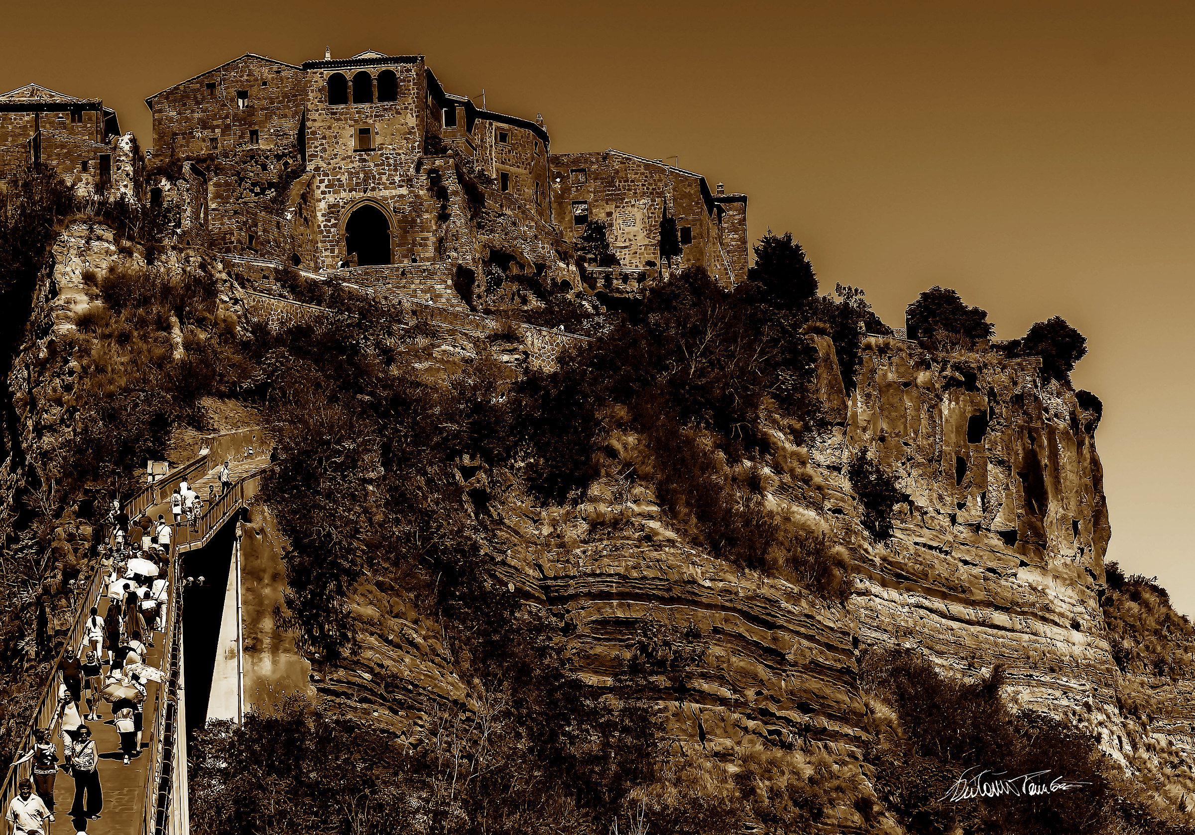 Civita,,un passo dal cielo.....