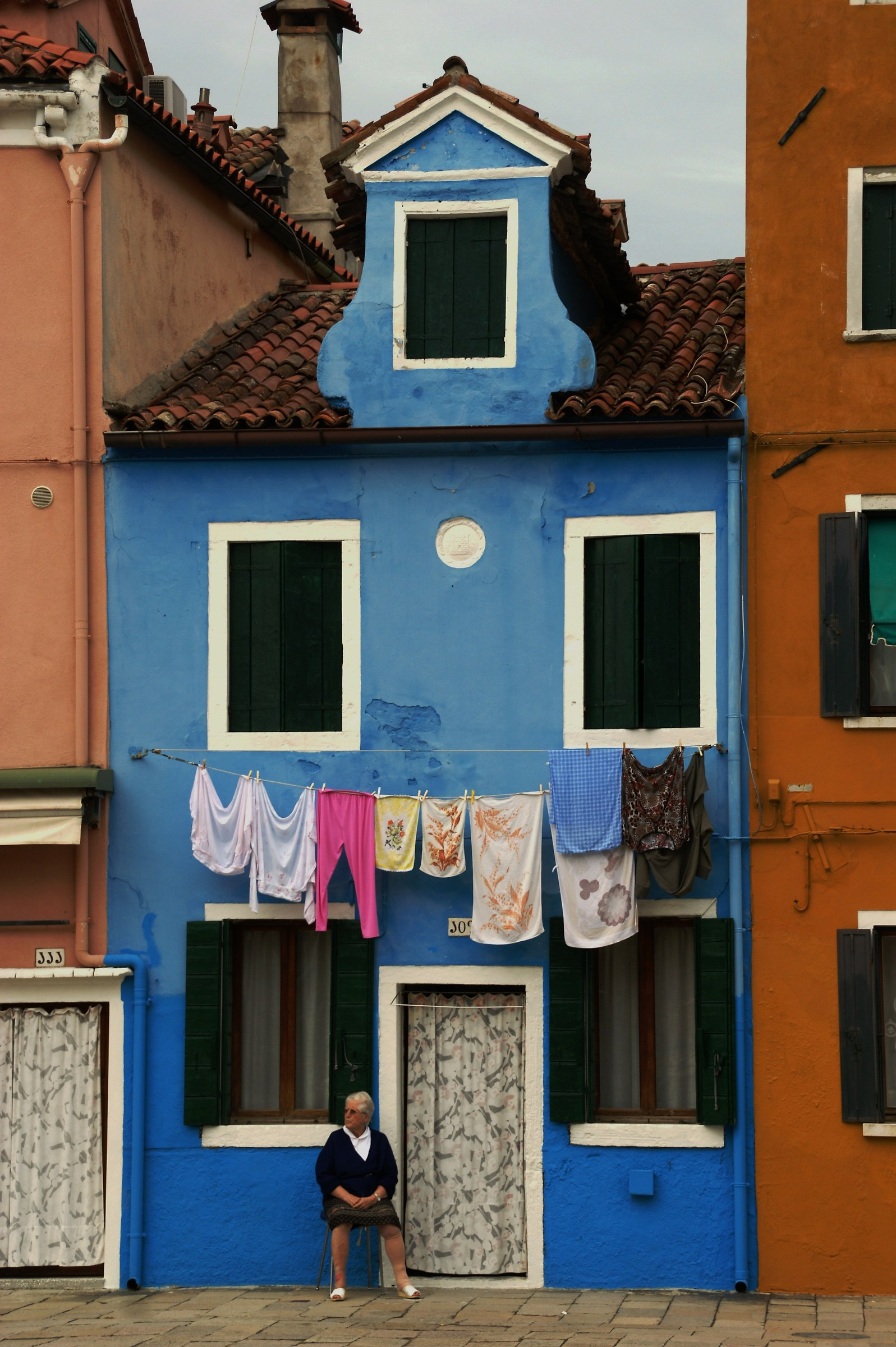 The lady from Burano...