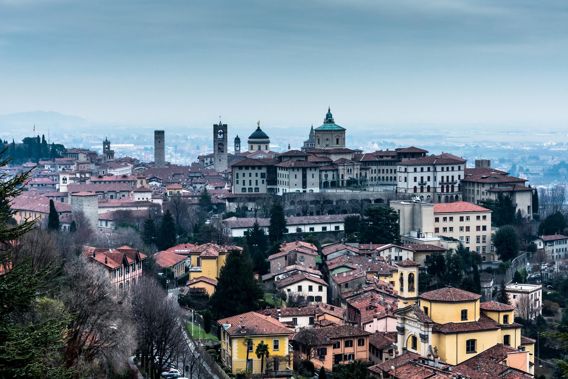 Upper Town, Bergamo....