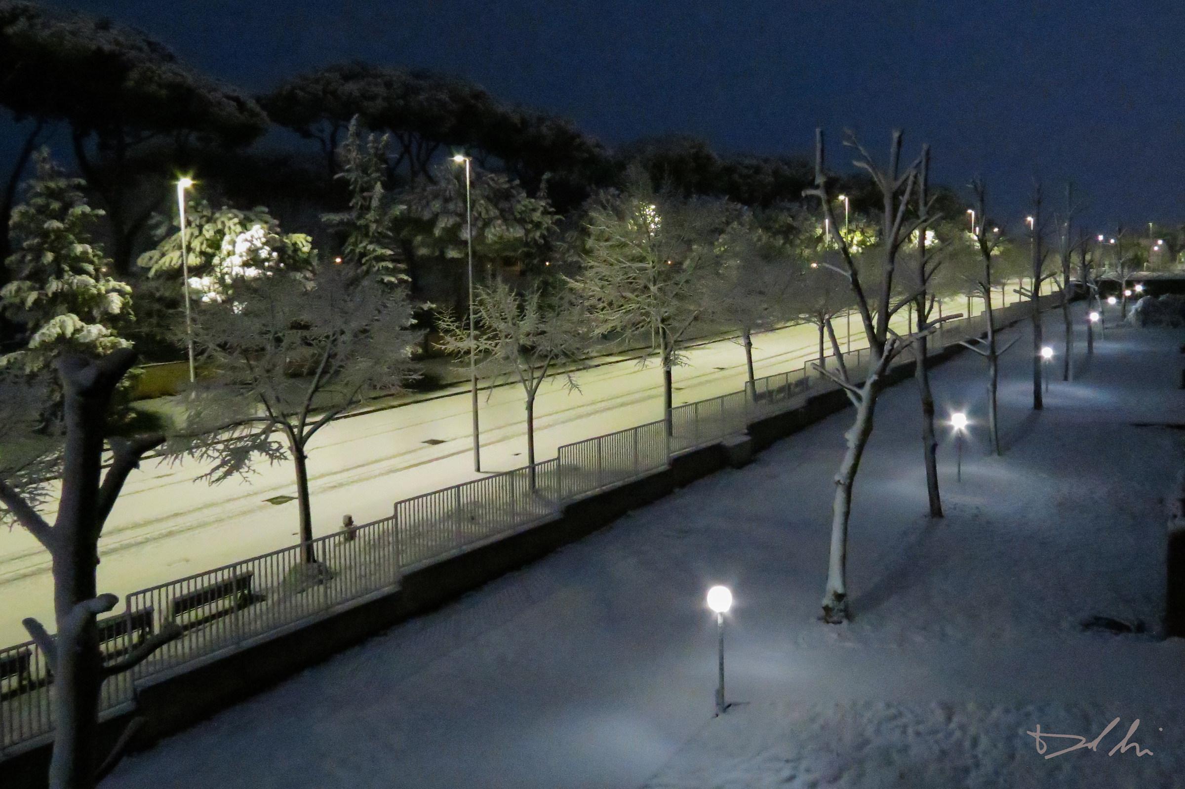 Neve a Roma...