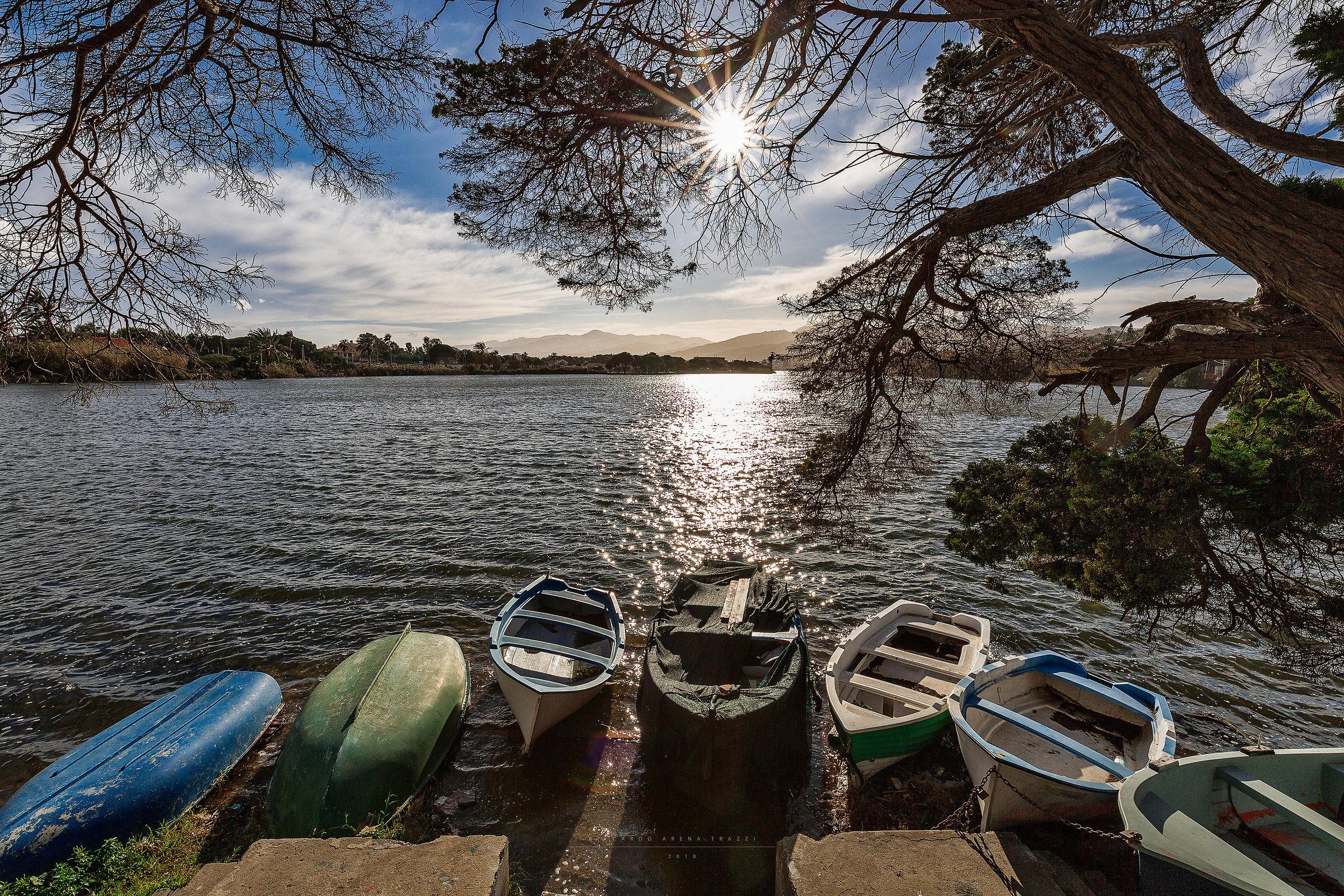 Lake of Ganzirri...