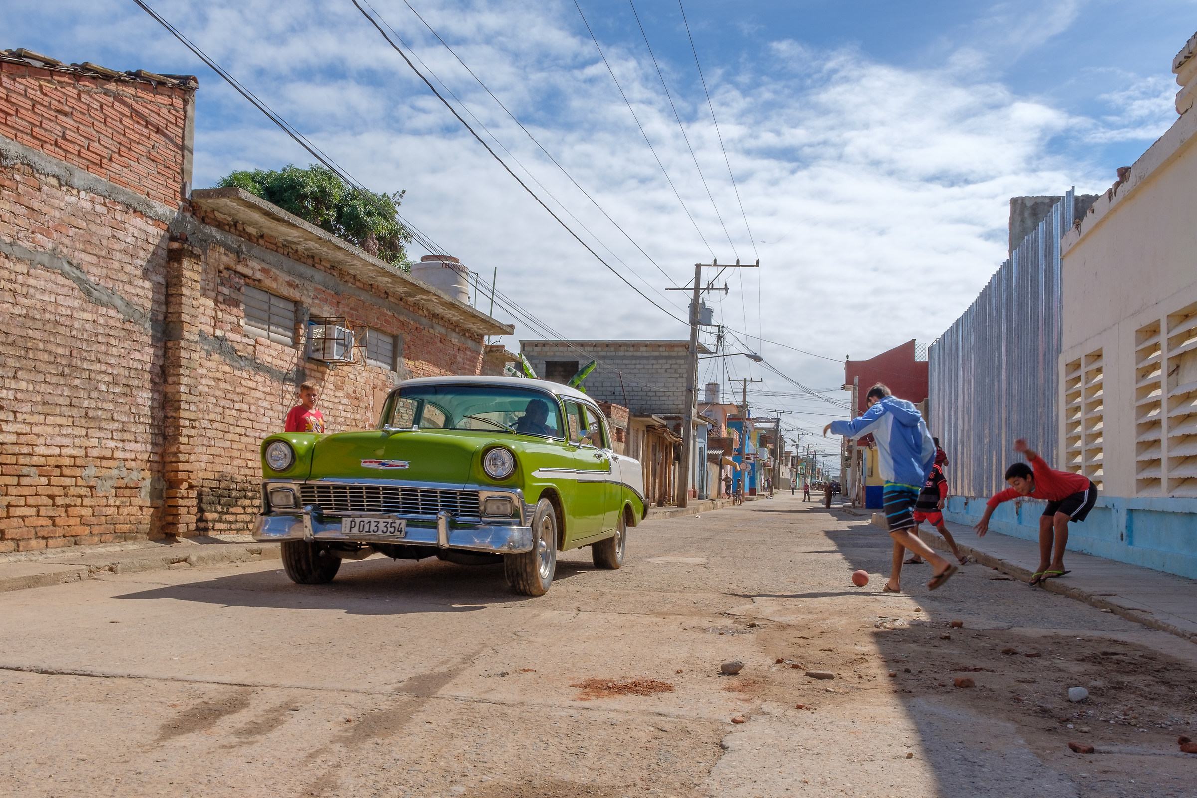 Street of Trinidad...