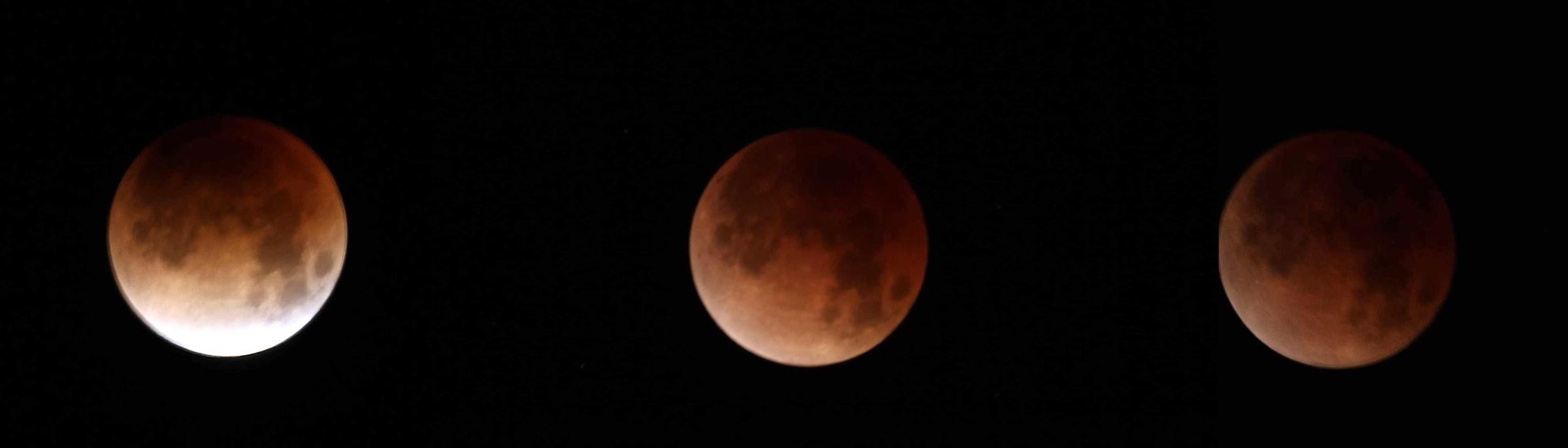 luna piena luna piena eclissi lunare, 31/01/2018...