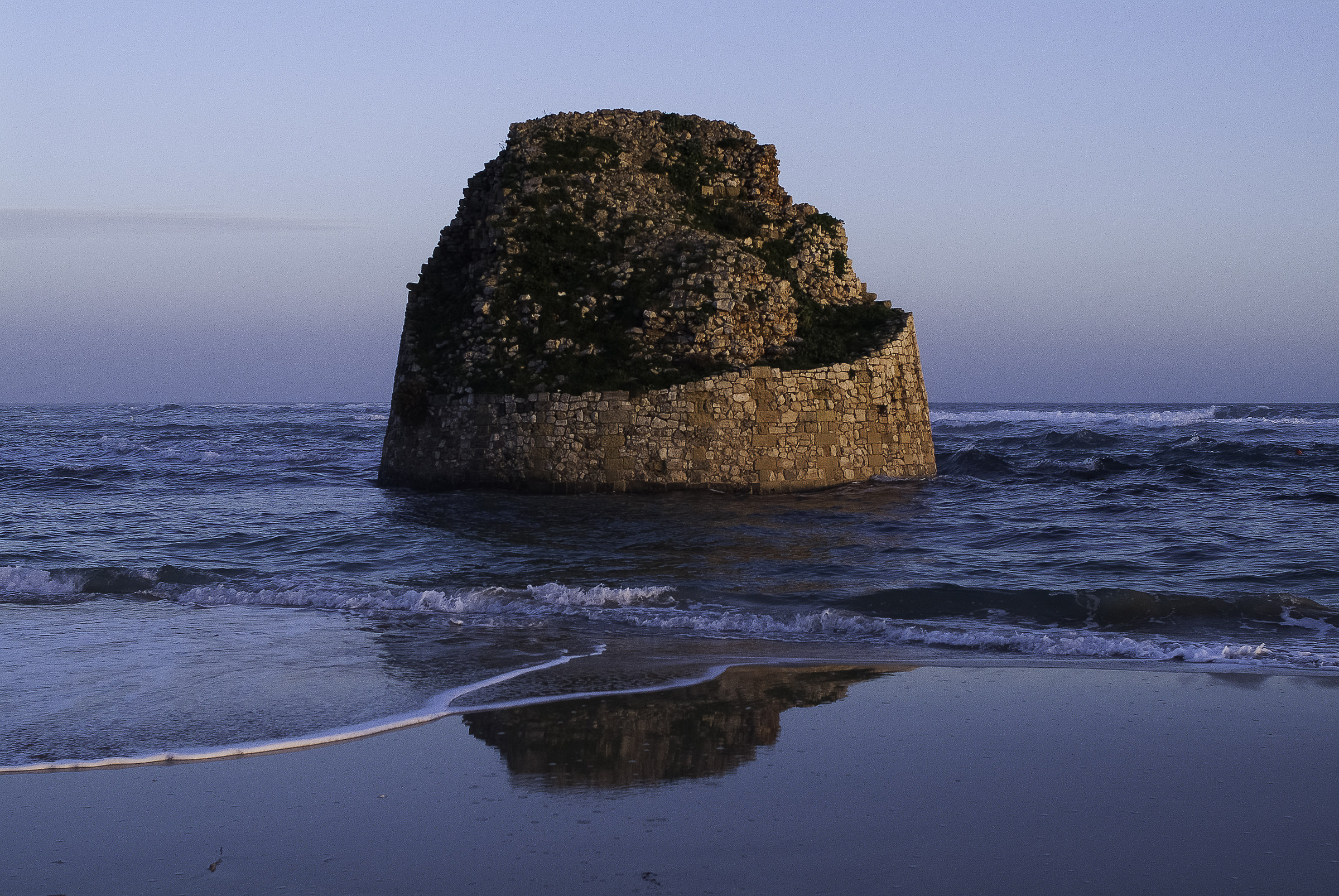 old tower in the sea...