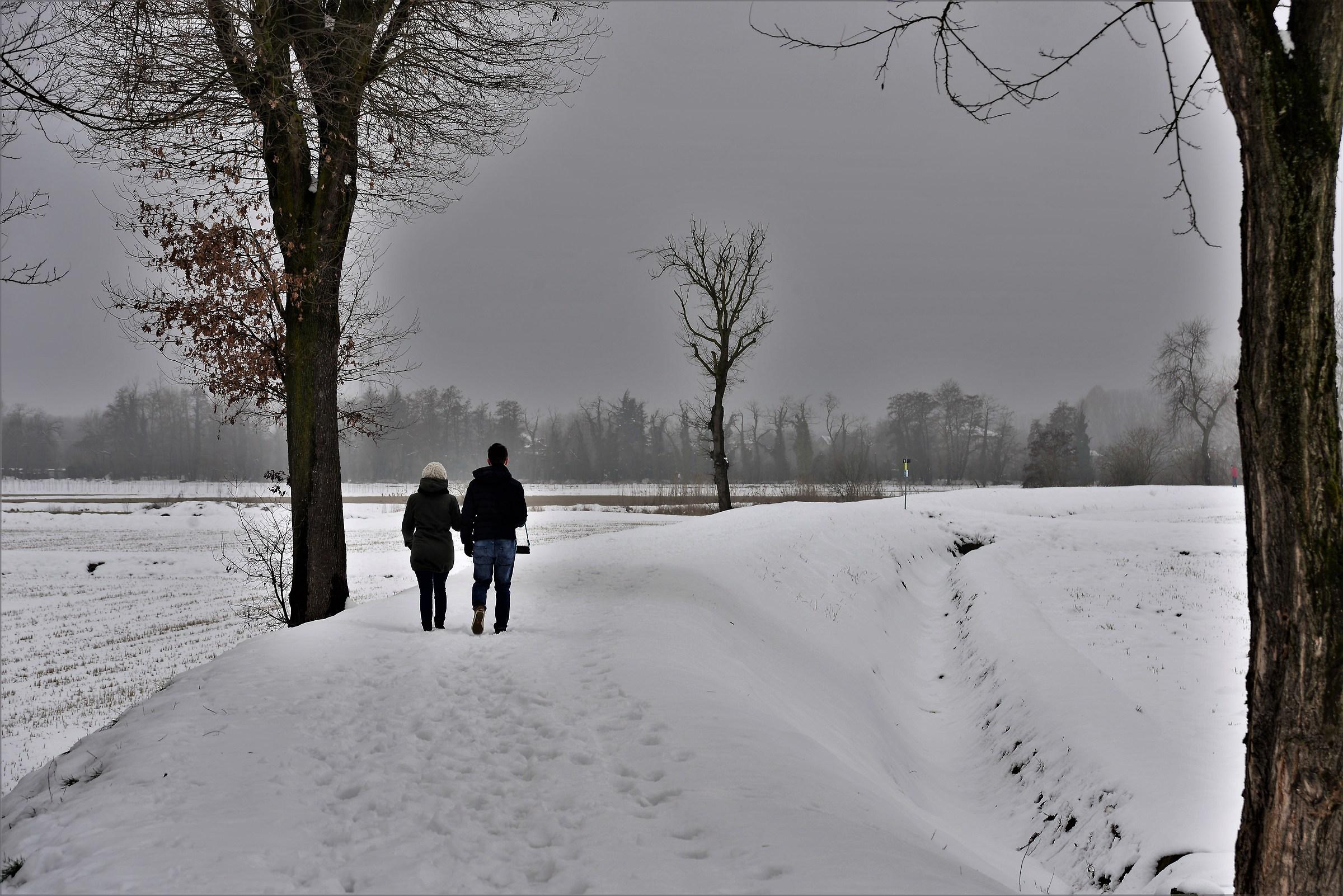 Last snow...