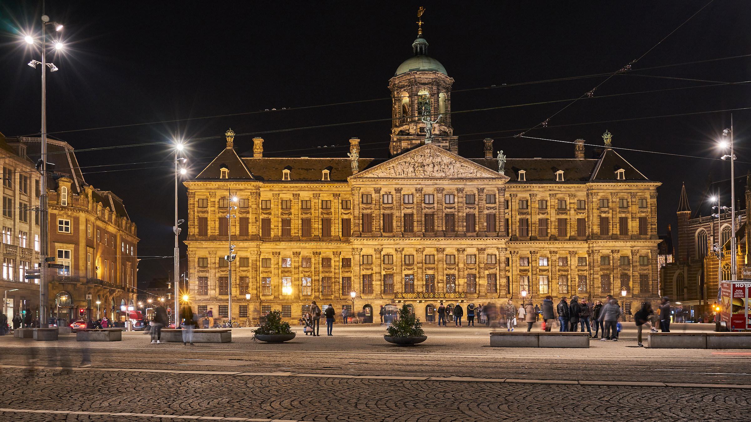 Amsterdam piazza Dam...