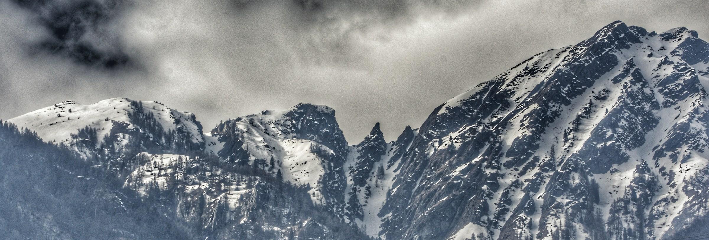 Mountains...