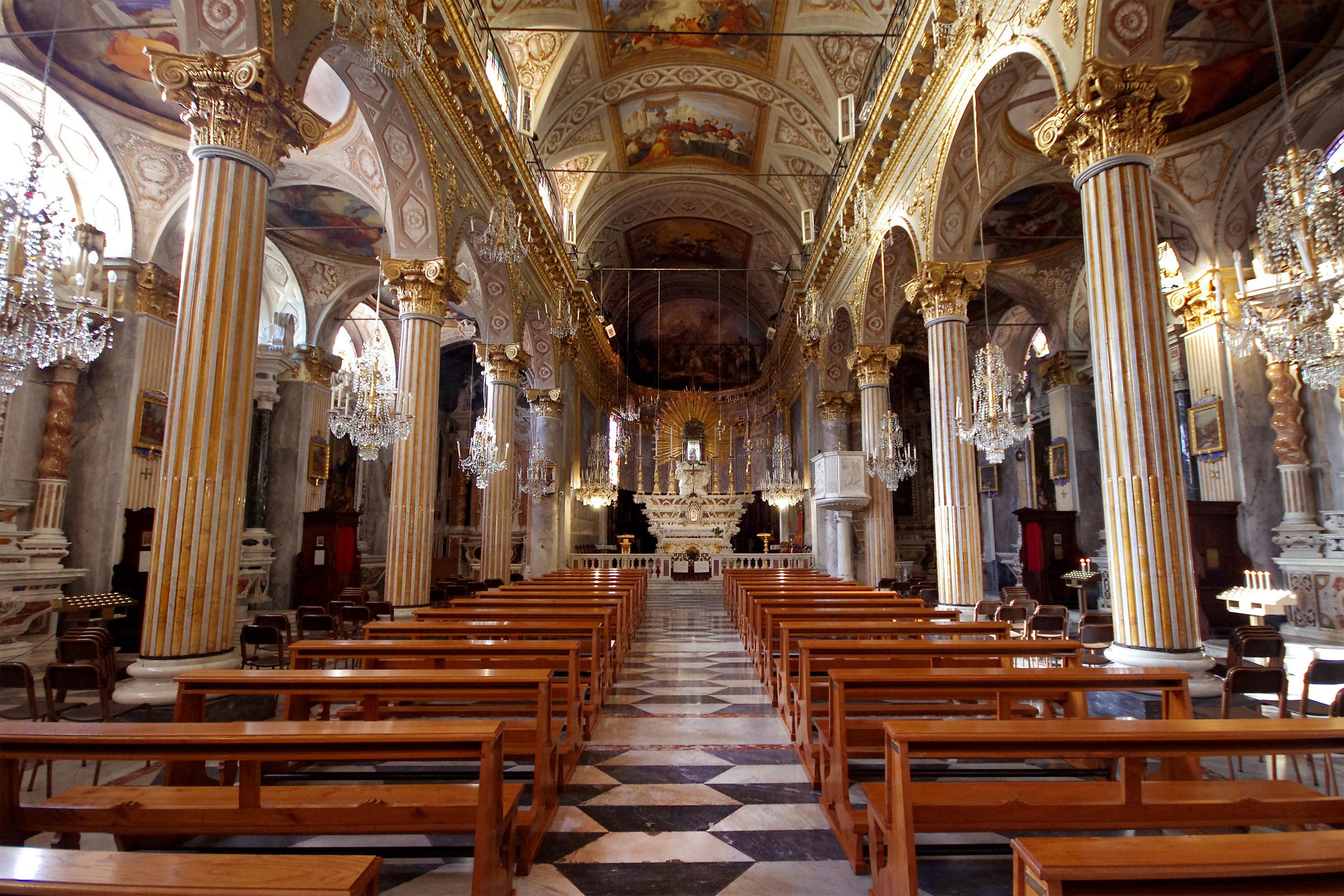 Chiesa di S.Giacomo di Corte (S.Margherita Ligure - GE)...