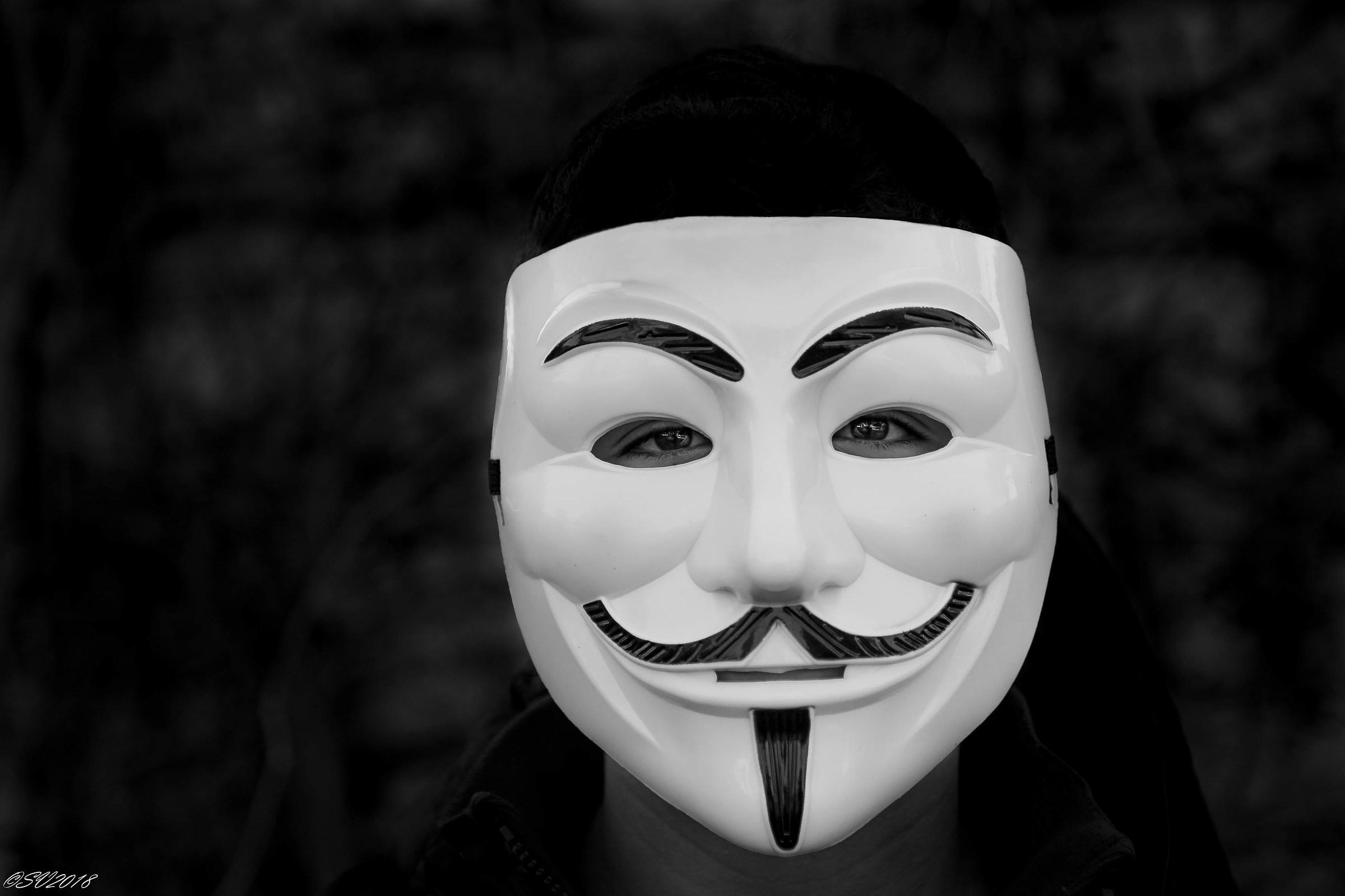 La maschera...