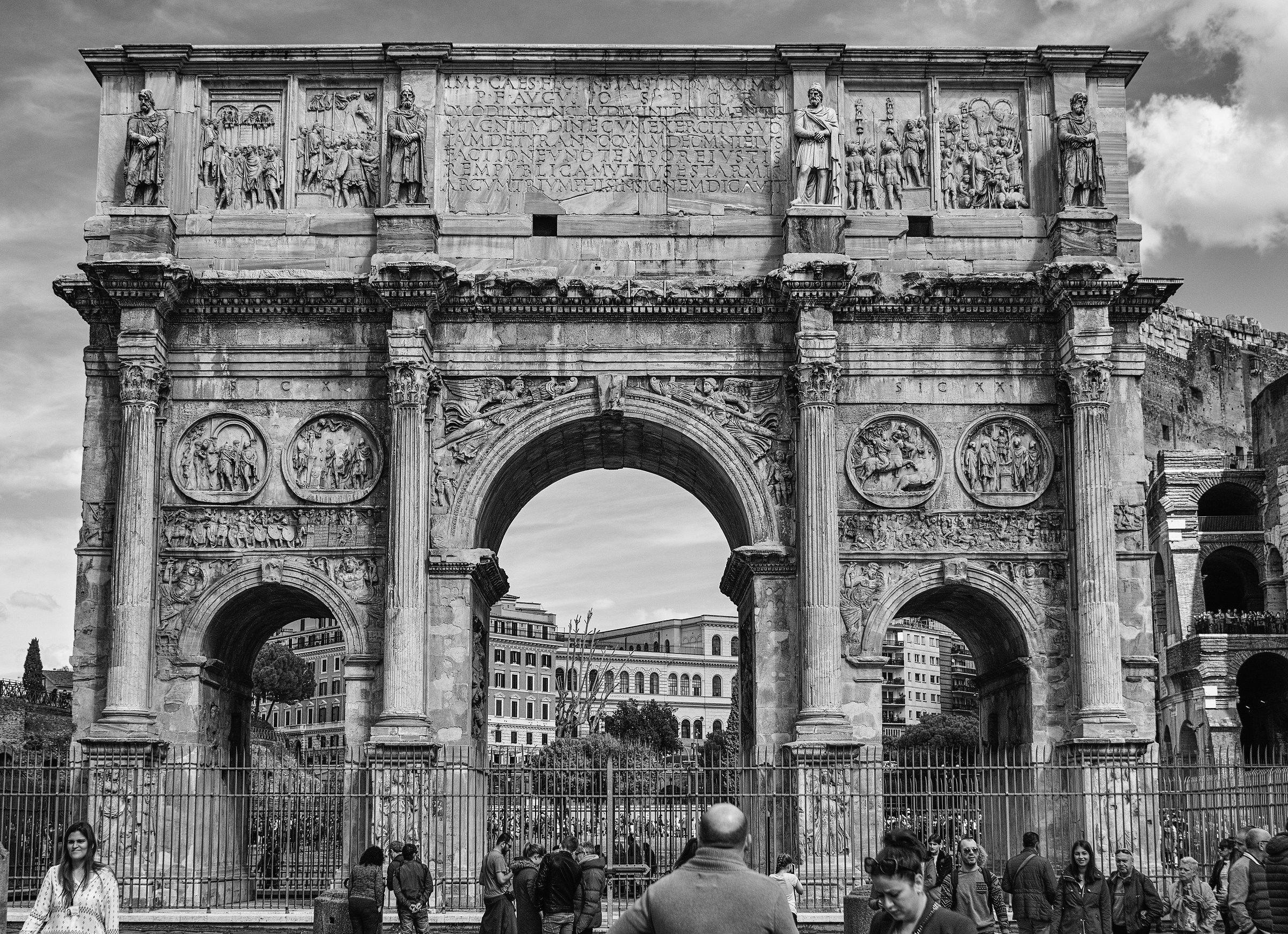 Arco di Costantino -  Foveon Full Sprectrum -Monochrome...