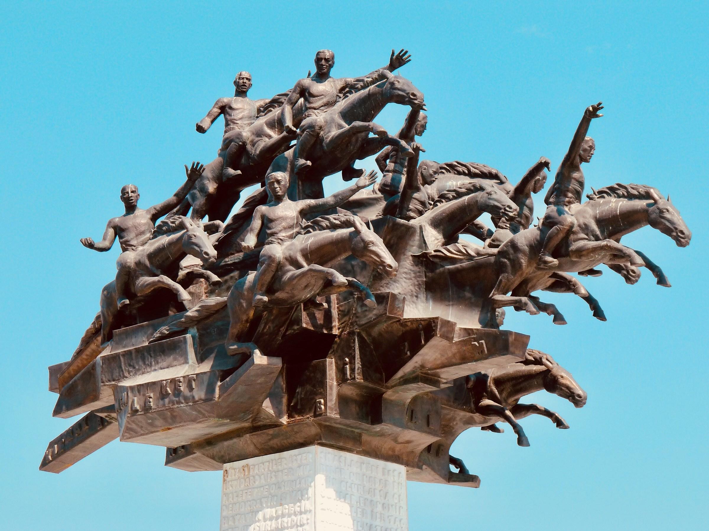 Tree of the Republic Statue...