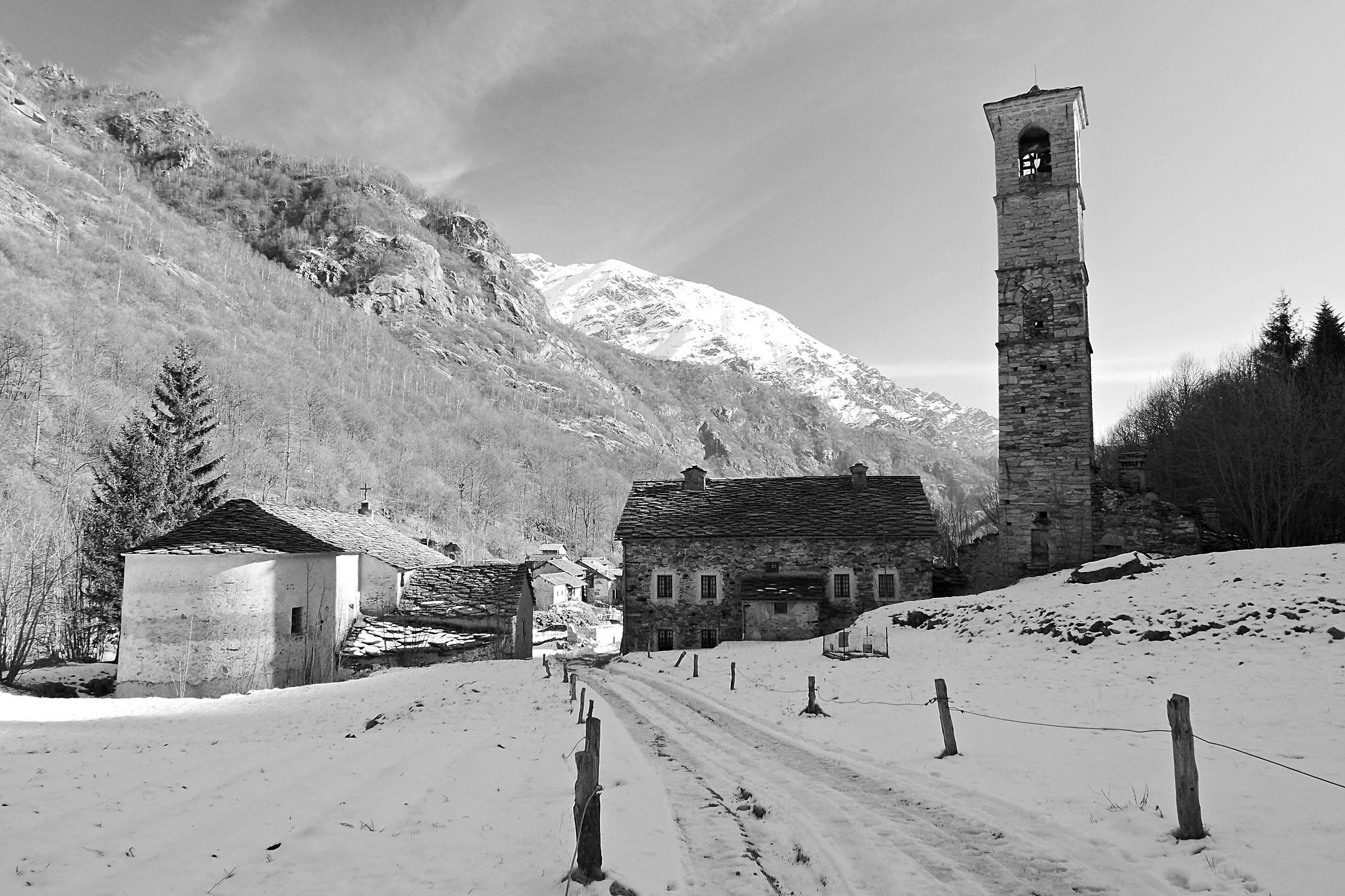 Fondo di Traversella, Val Chiusella...