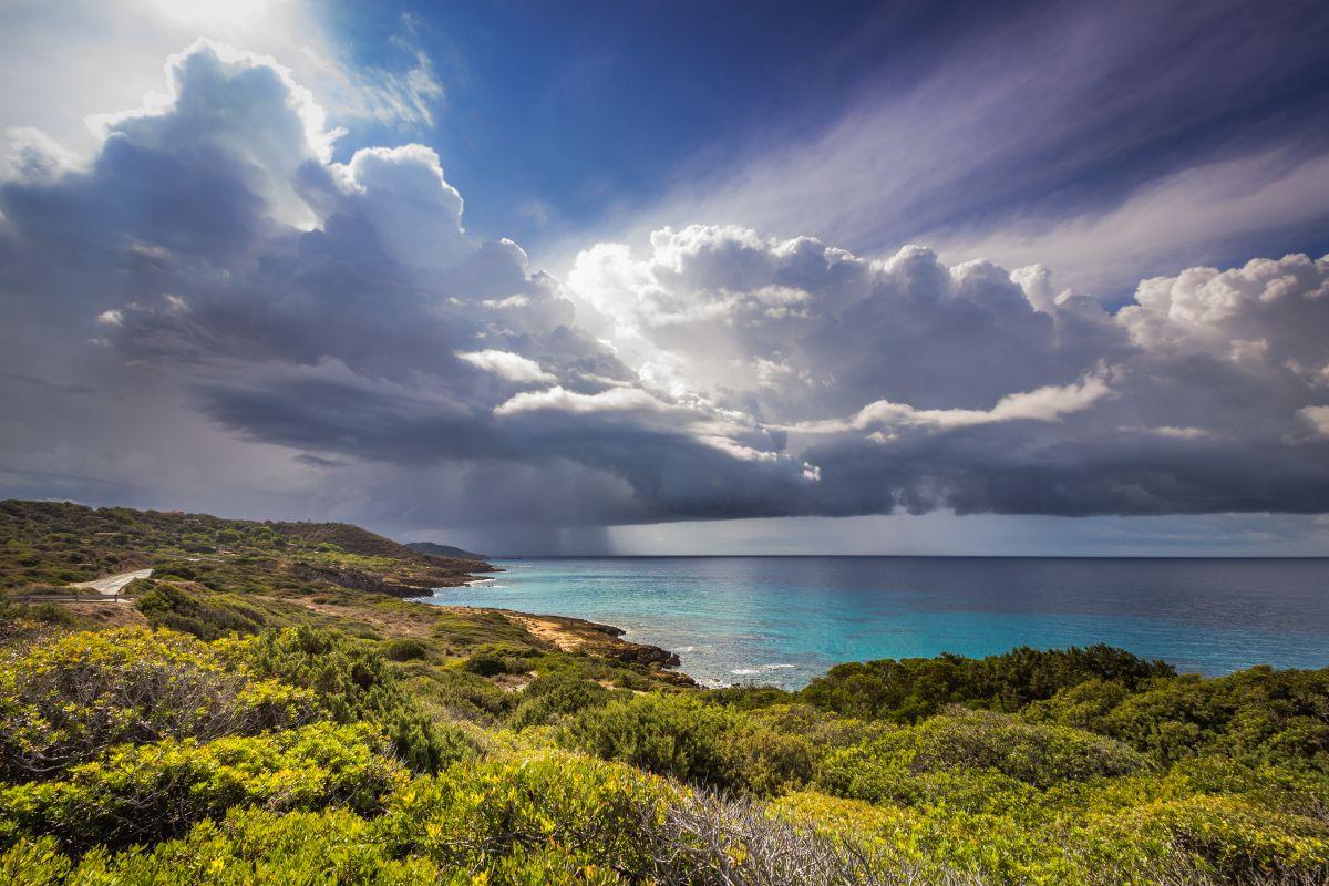 Sardinia_Statale Alghero-Bosa ... the rain arrives...