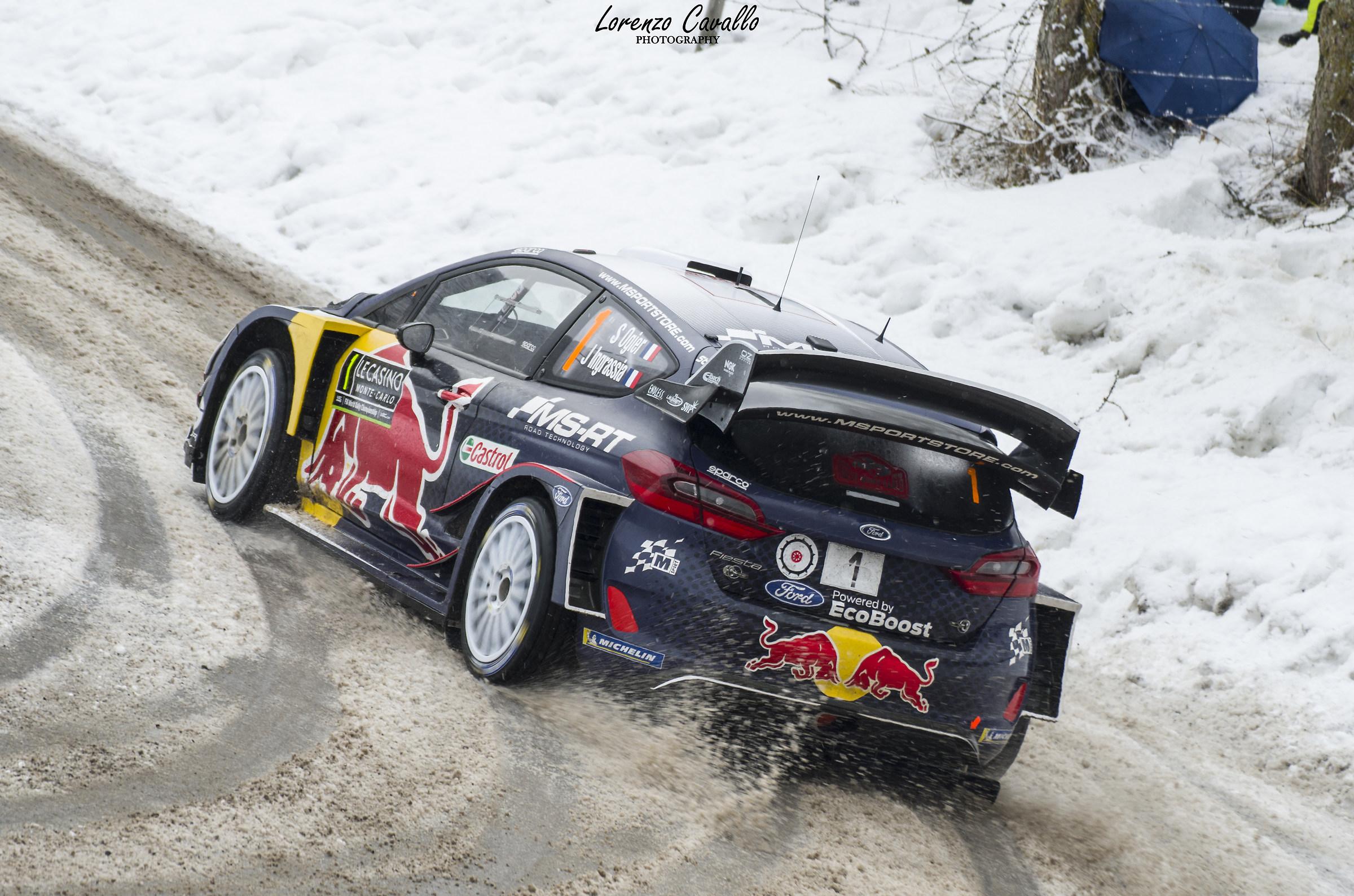 Rallye Montecarlo 2018 - Ogier...