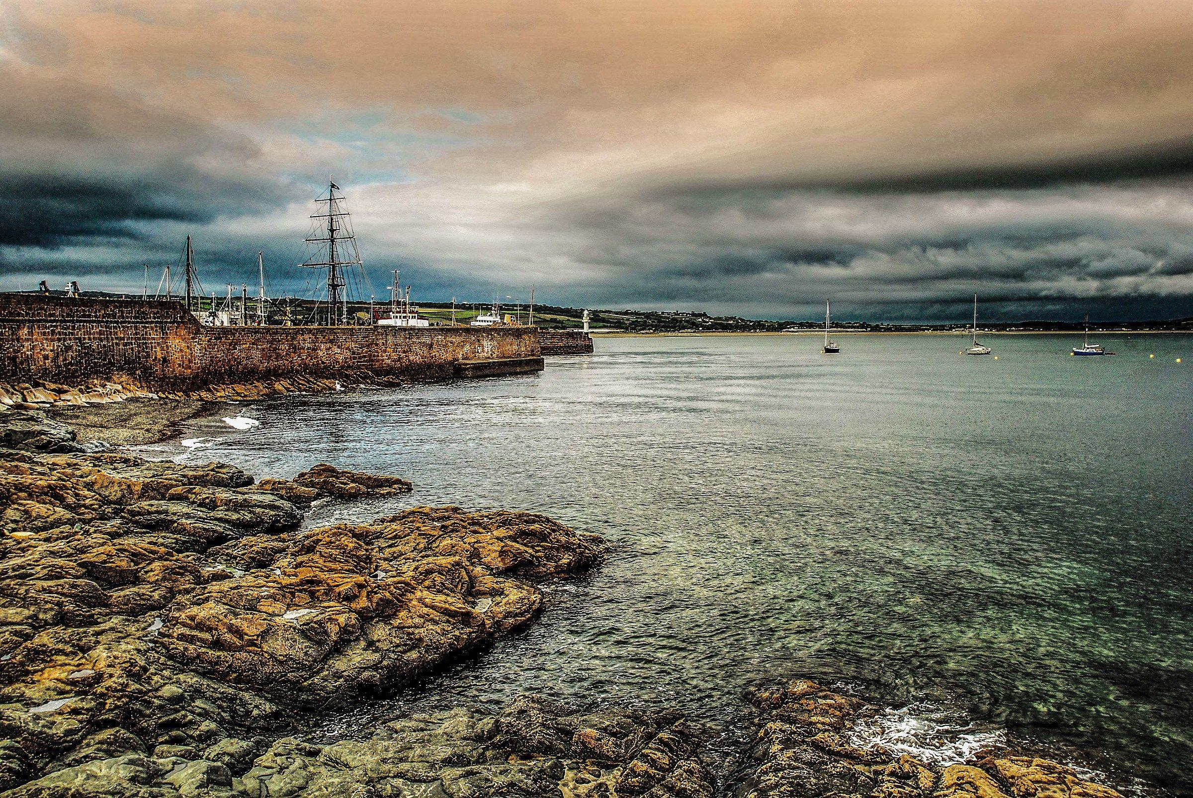 THE marina...