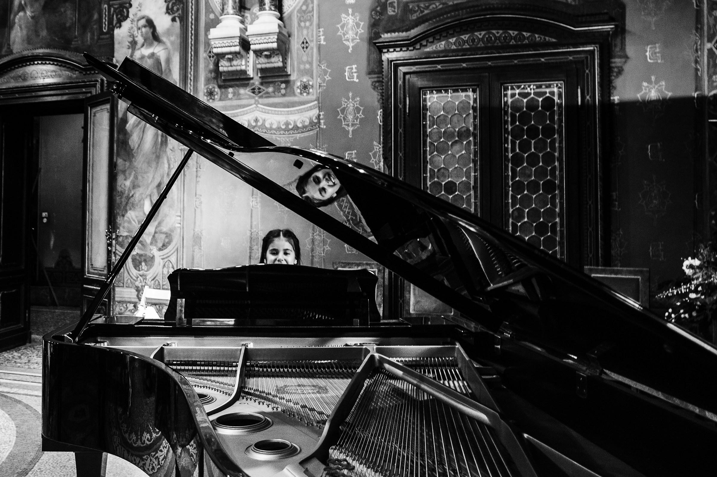 La piccola pianista...