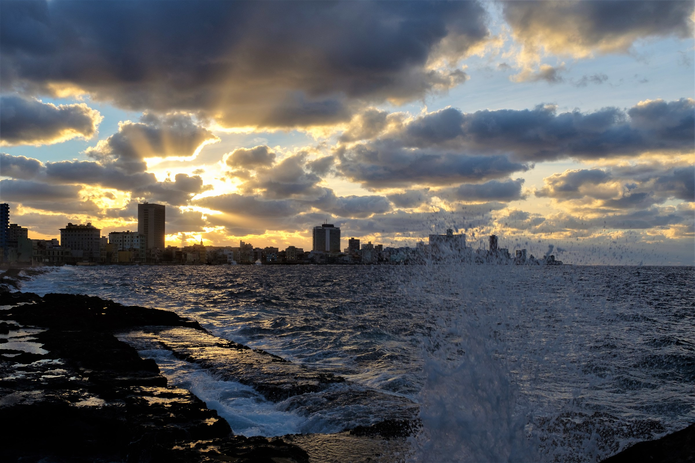 Sunset on the Malecon...