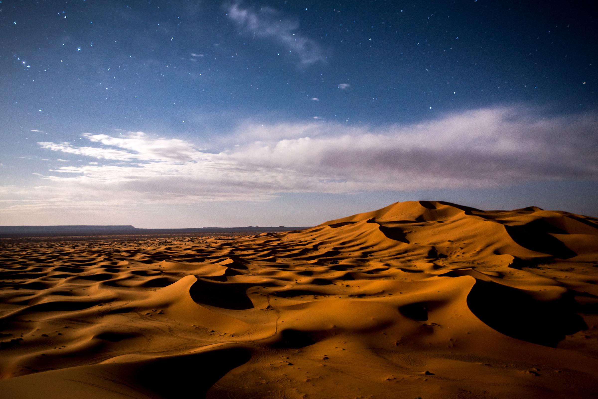 Erg Chebbi desert...