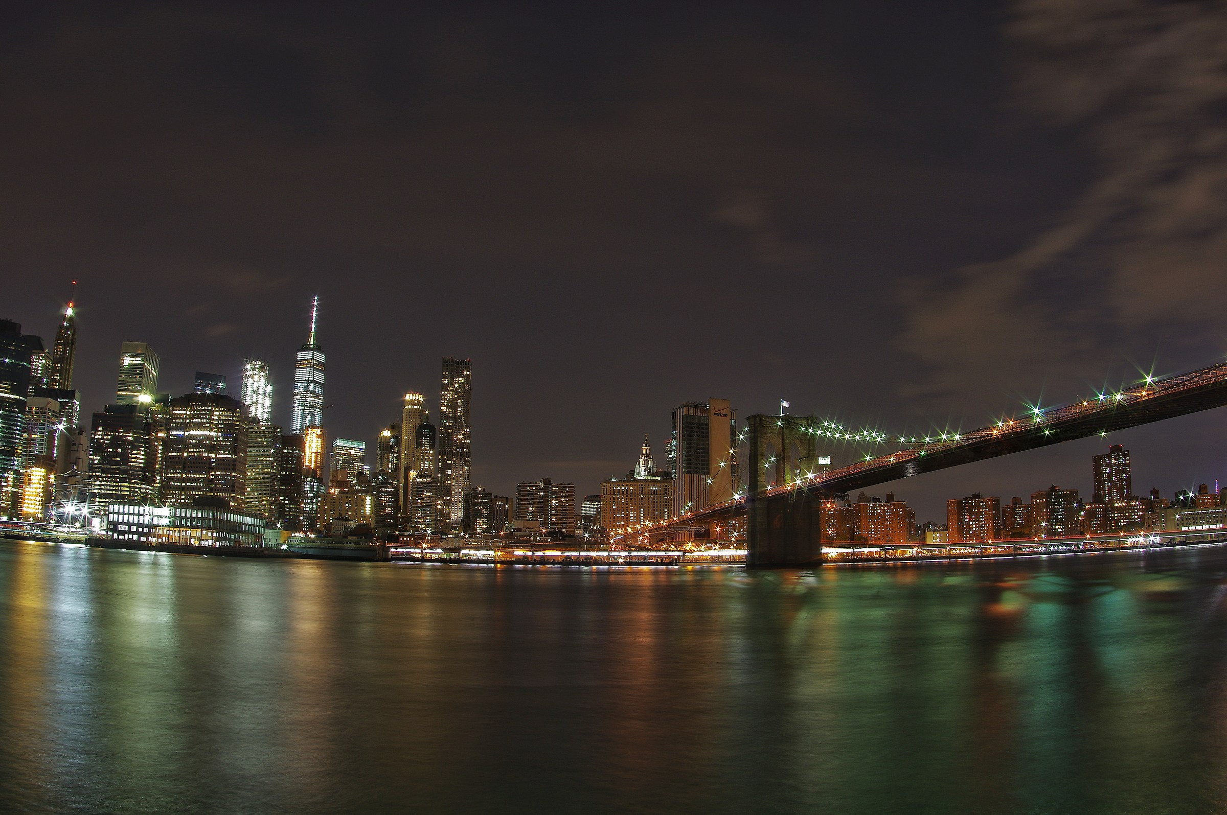 Skyline by night...