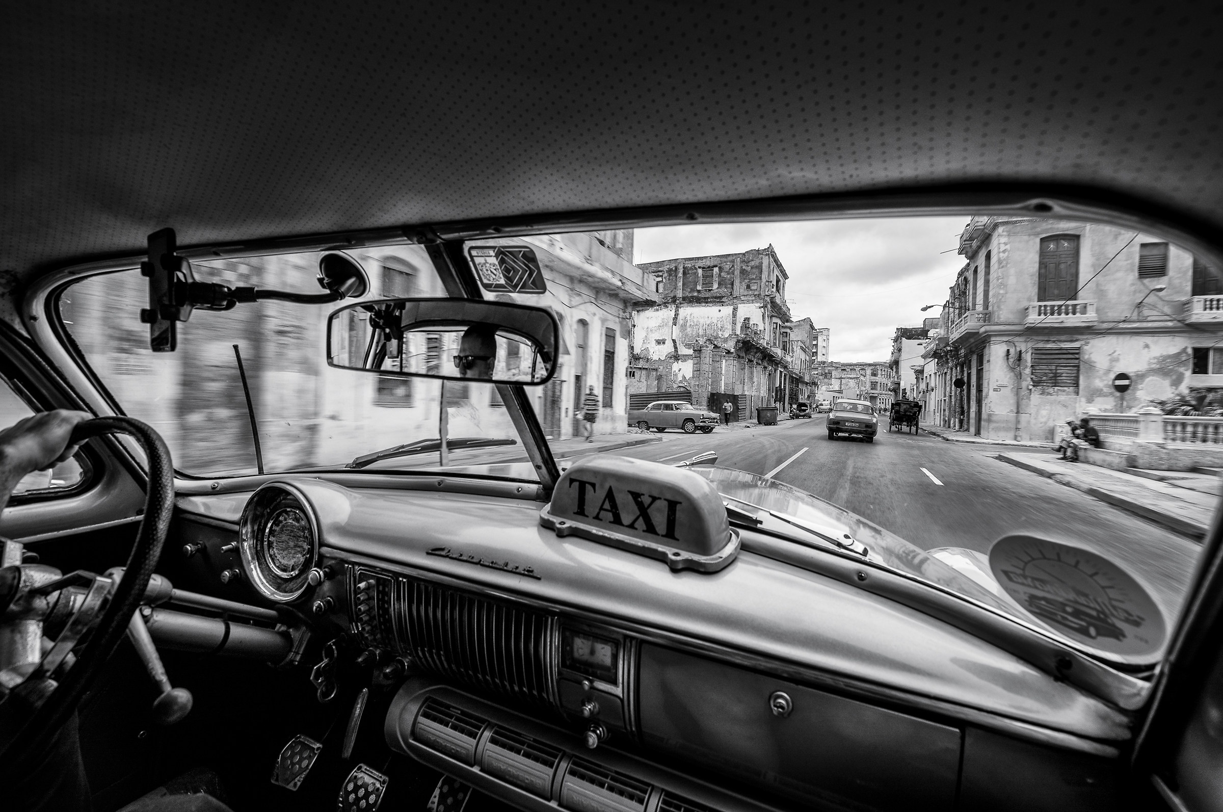 Riding the cuban streets...