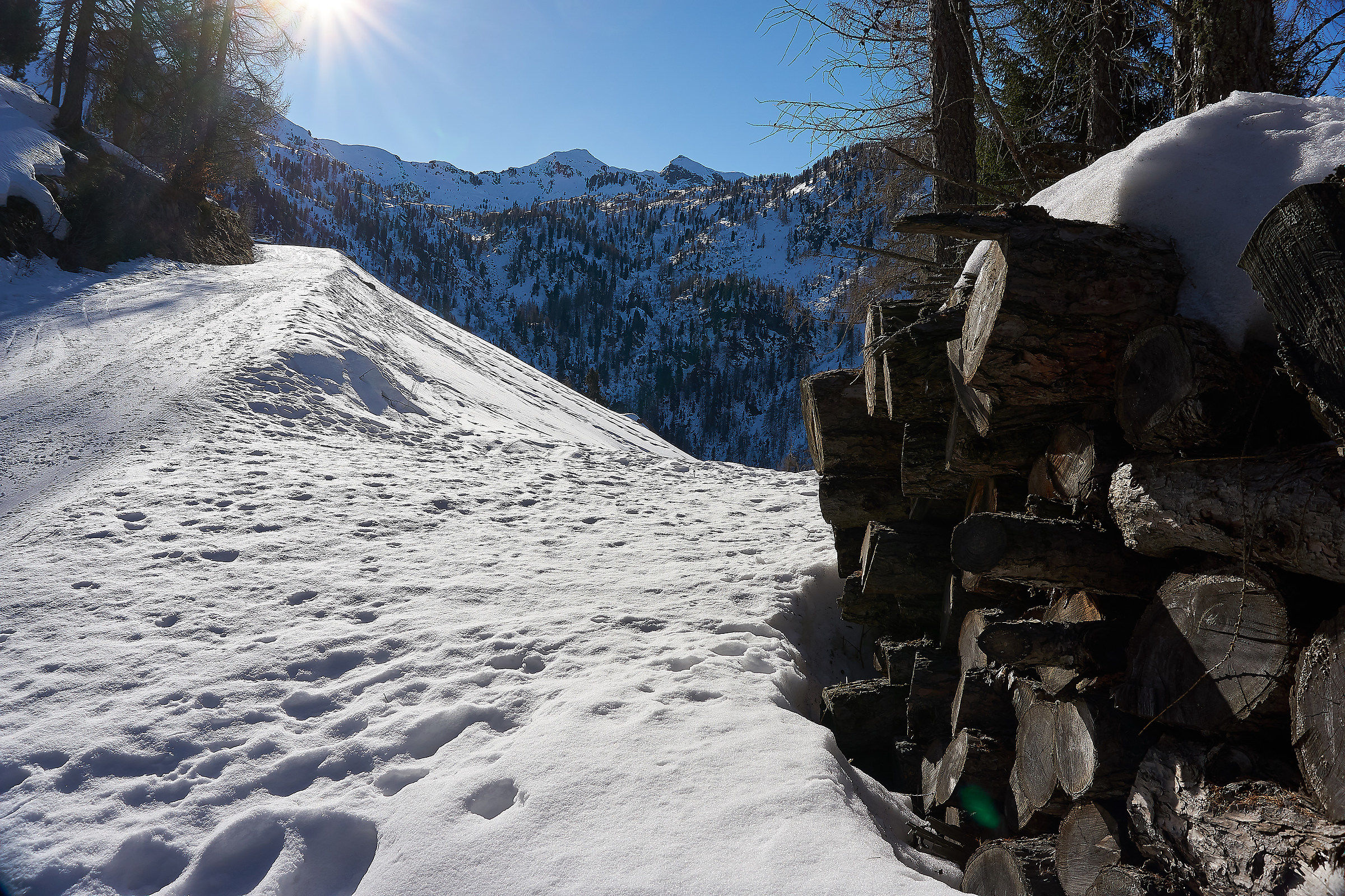 Salita al Monte Leretta...